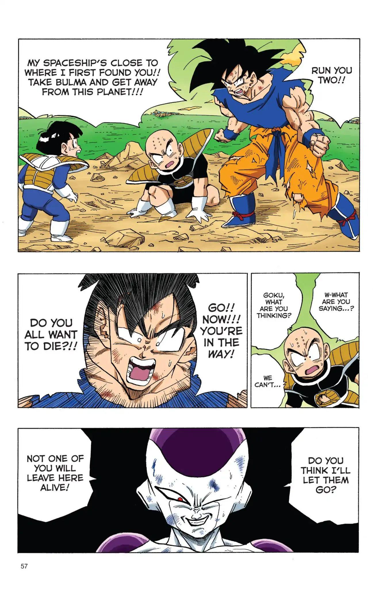 Dragon Ball Full Color Freeza Arc Chapter 72  Online Free Manga Read Image 11