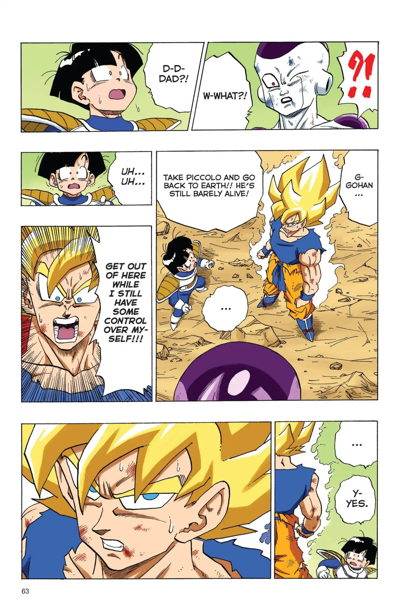 Dragon Ball Full Color Freeza Arc Chapter 72  Online Free Manga Read Image 17
