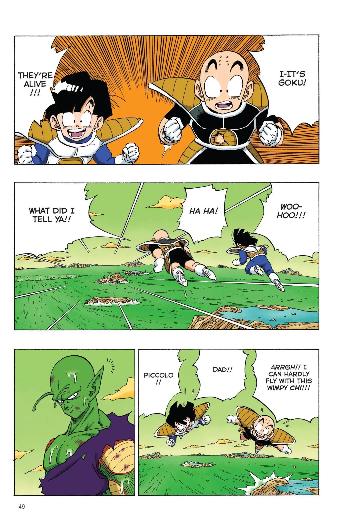 Dragon Ball Full Color Freeza Arc Chapter 72  Online Free Manga Read Image 3