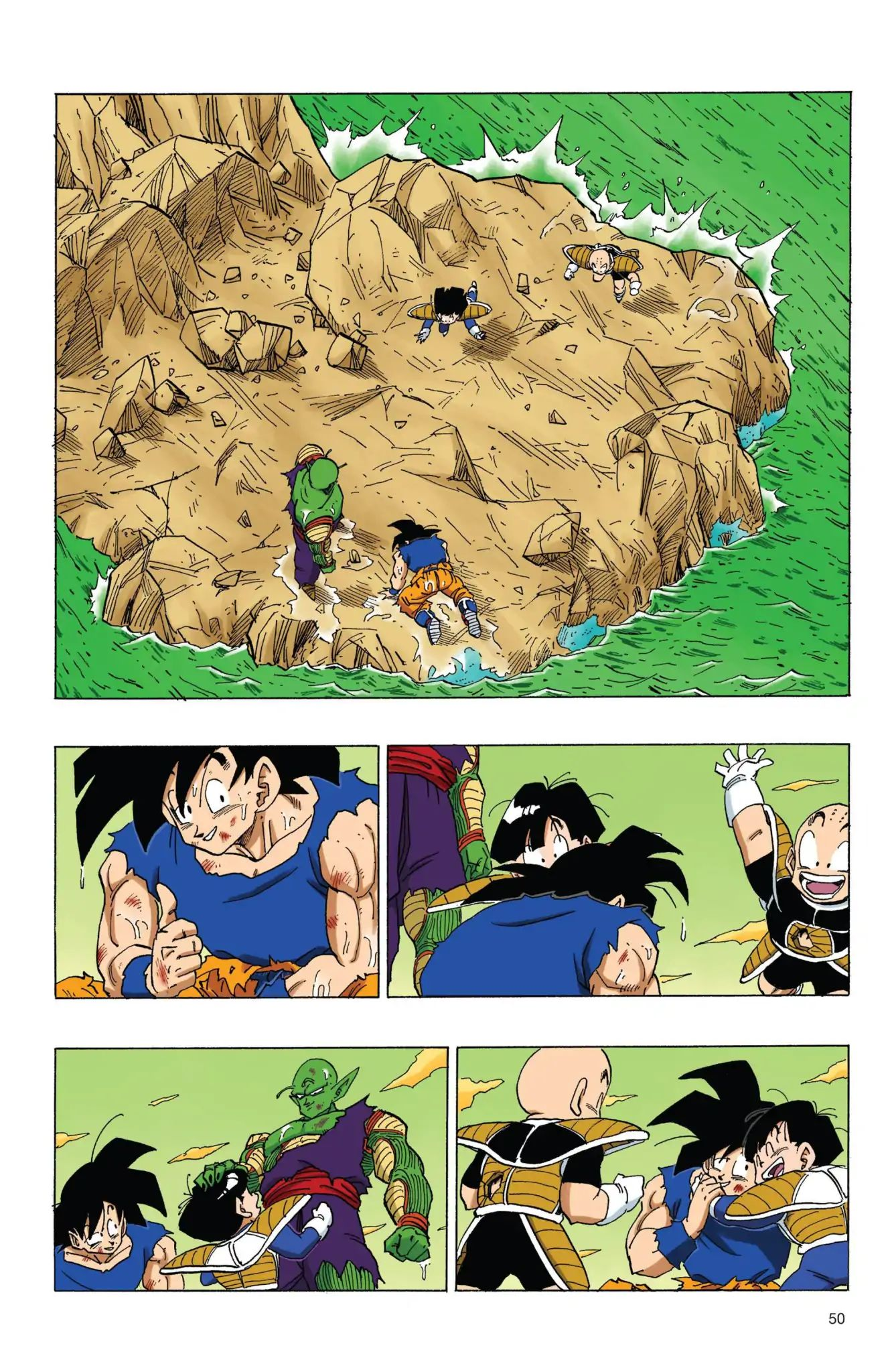 Dragon Ball Full Color Freeza Arc Chapter 72  Online Free Manga Read Image 4