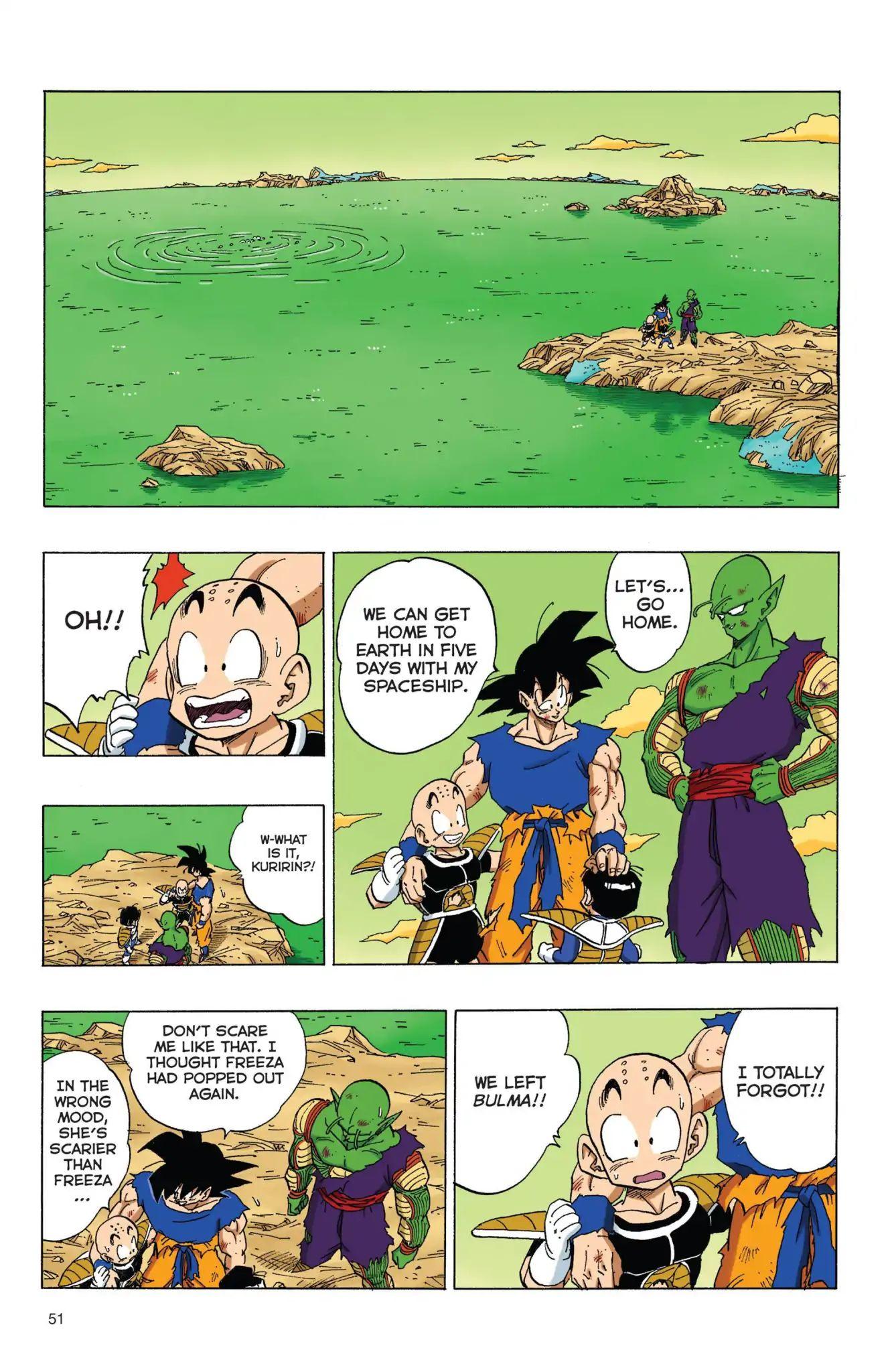 Dragon Ball Full Color Freeza Arc Chapter 72  Online Free Manga Read Image 5