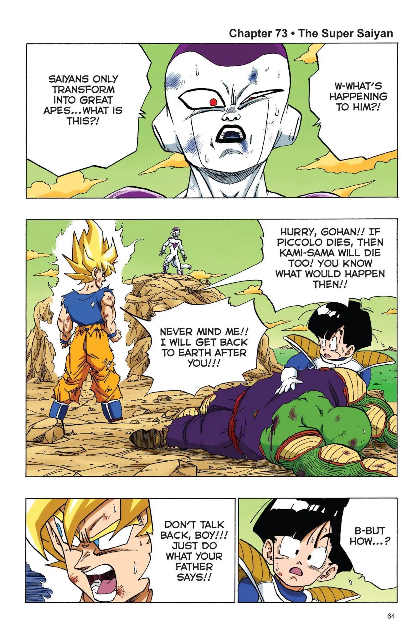 Dragon Ball Full Color Freeza Arc Chapter 73  Online Free Manga Read Image 1