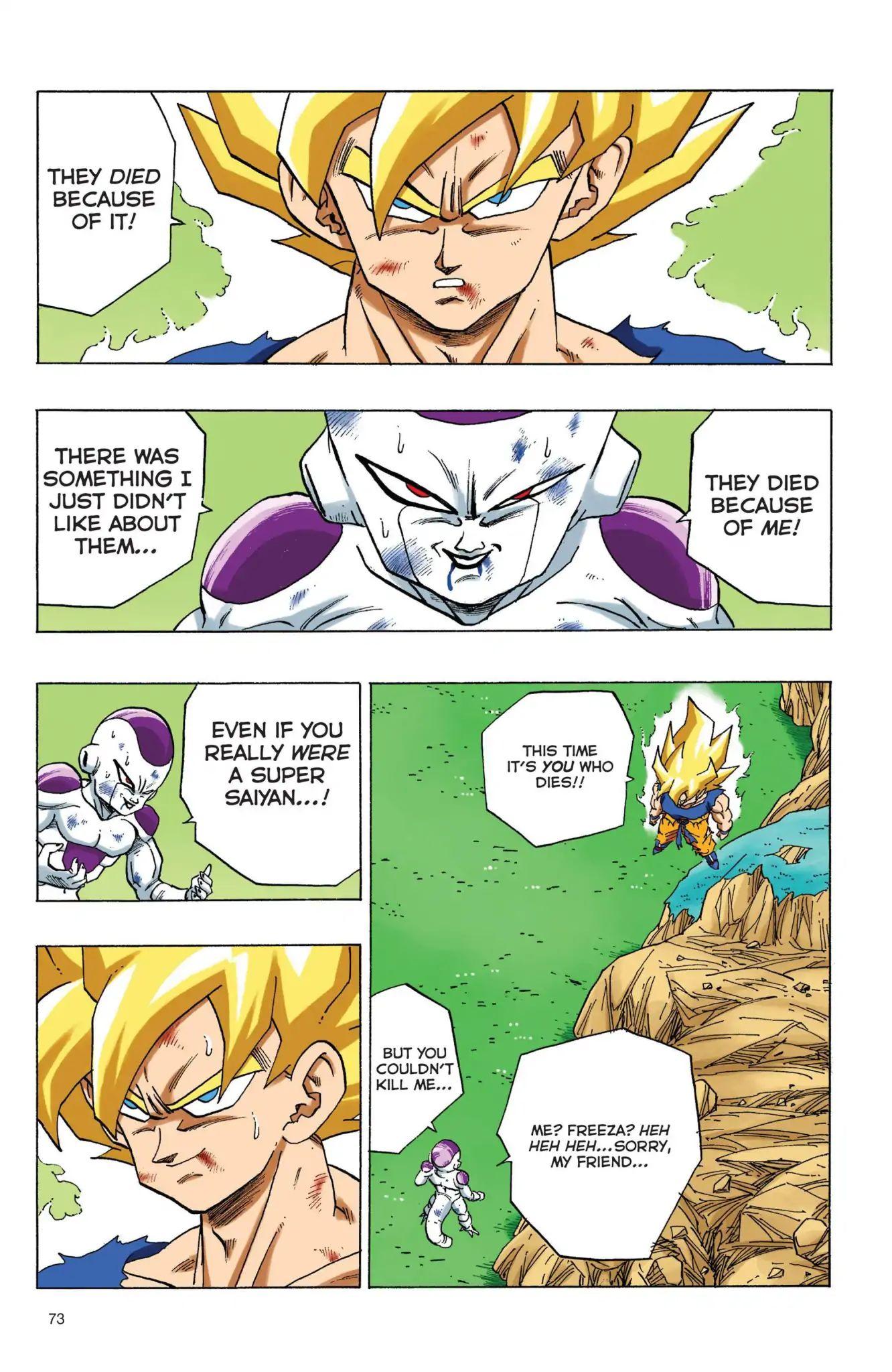 Dragon Ball Full Color Freeza Arc Chapter 73  Online Free Manga Read Image 10