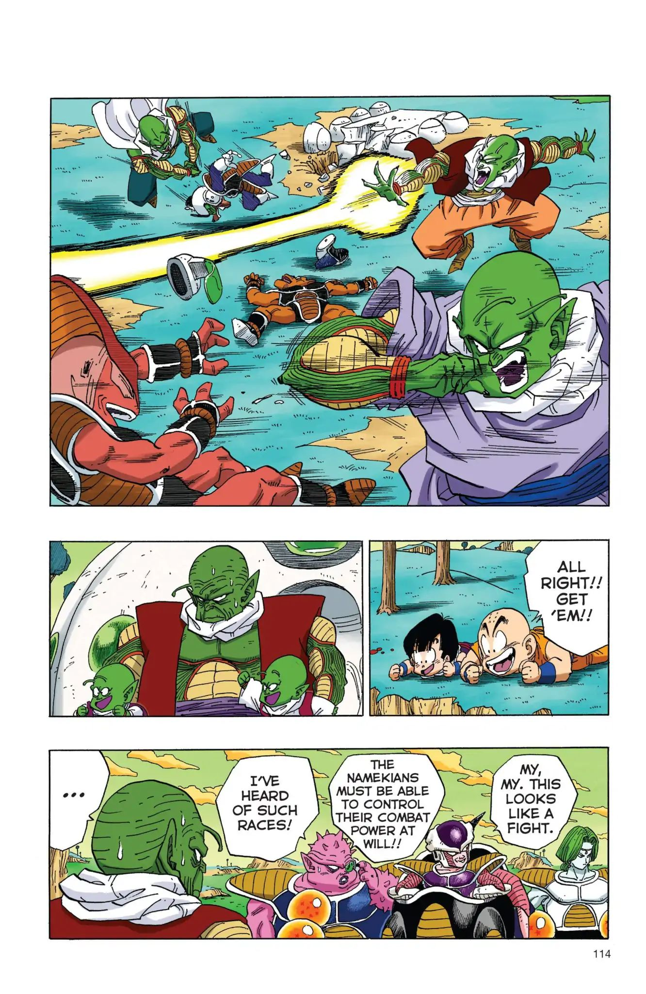 Dragon Ball Full Color Freeza Arc Chapter 8  Online Free Manga Read Image 11