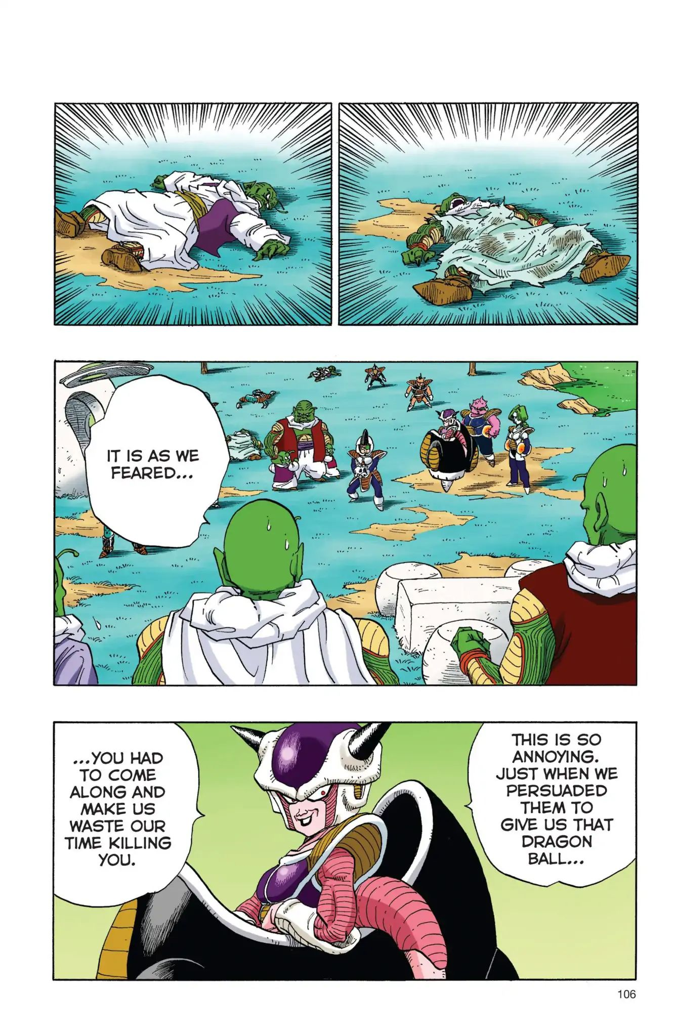 Dragon Ball Full Color Freeza Arc Chapter 8  Online Free Manga Read Image 3