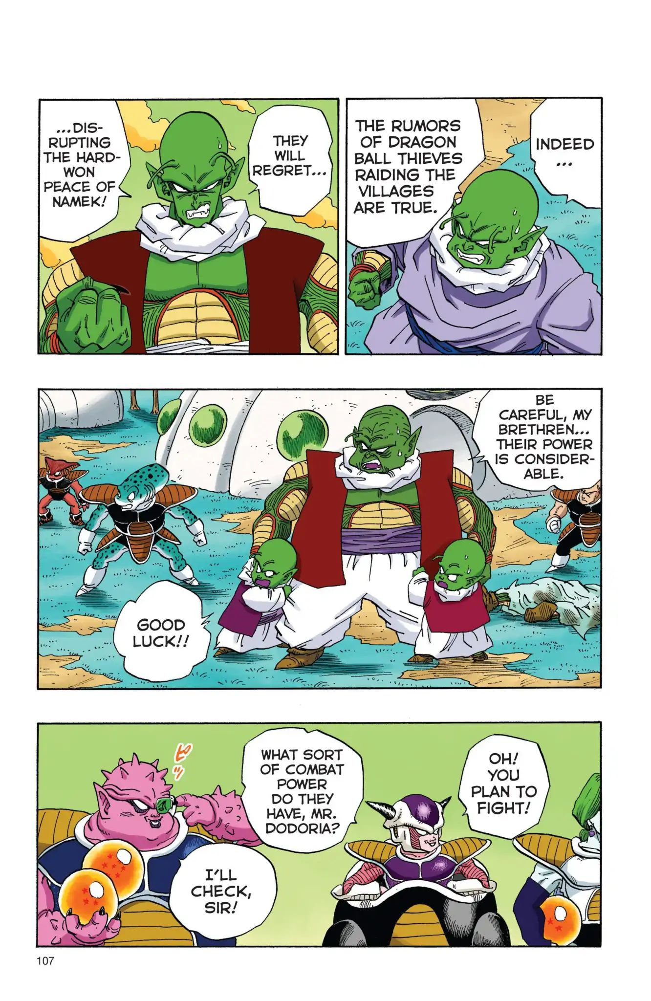 Dragon Ball Full Color Freeza Arc Chapter 8  Online Free Manga Read Image 4