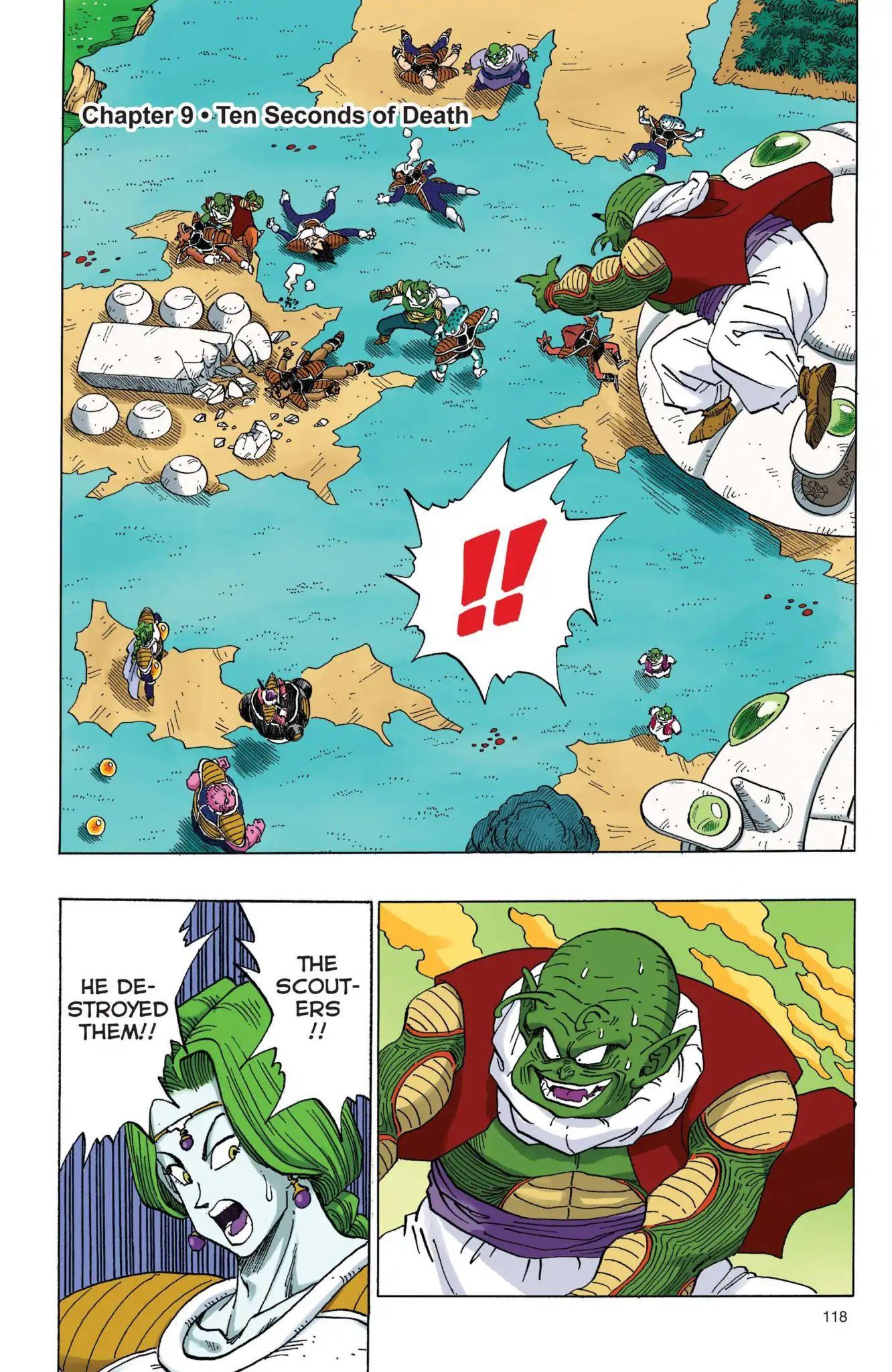 Dragon Ball Full Color Freeza Arc Chapter 9  Online Free Manga Read Image 1