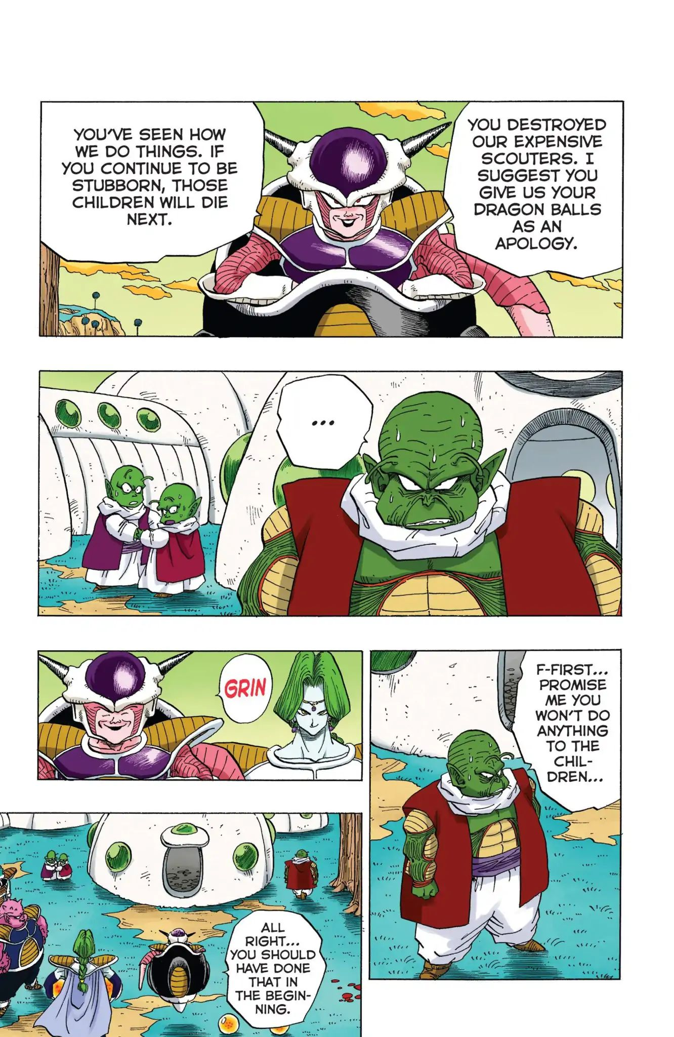Dragon Ball Full Color Freeza Arc Chapter 9  Online Free Manga Read Image 12