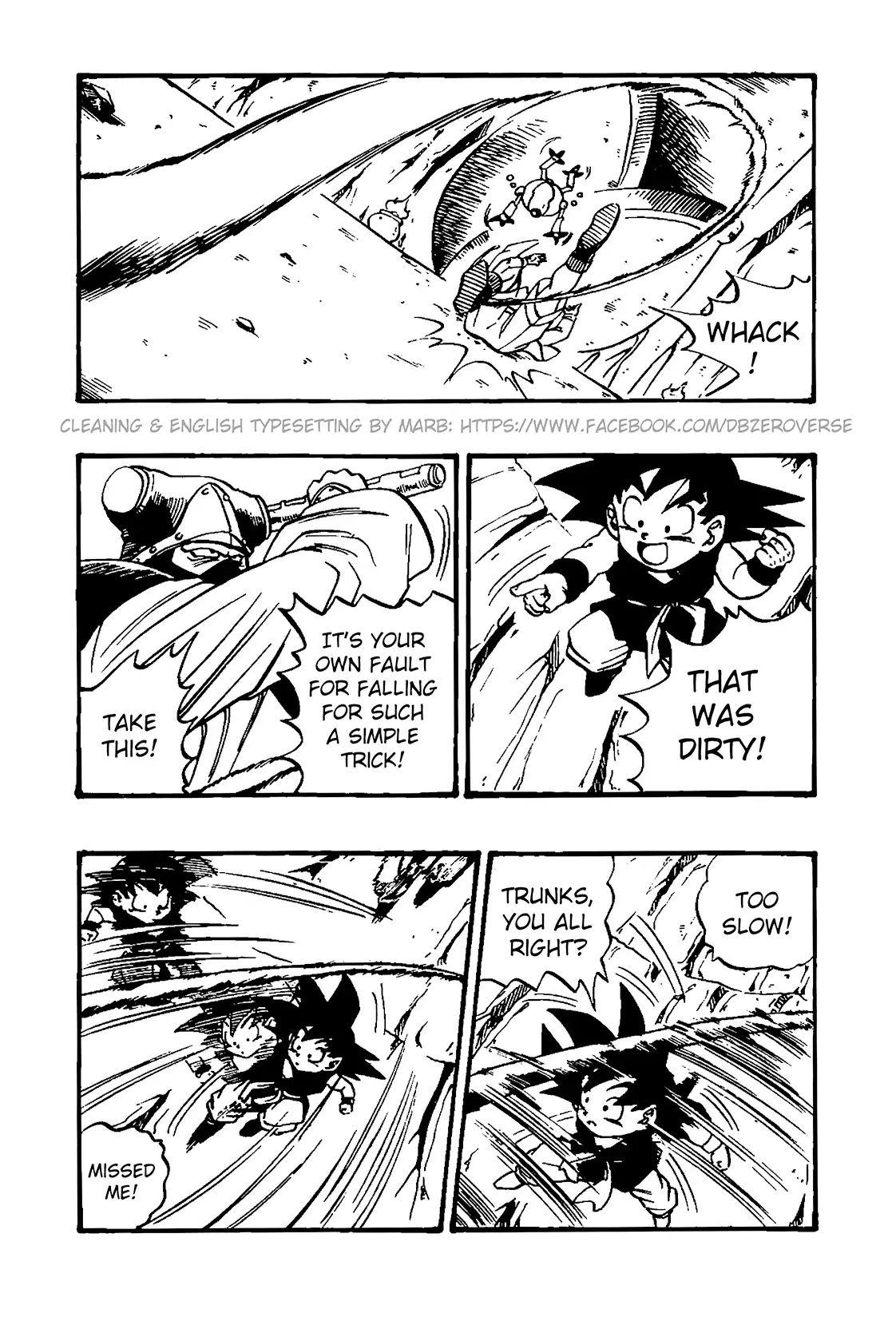 Dragon Ball GT Chapter 32  Online Free Manga Read Image 2