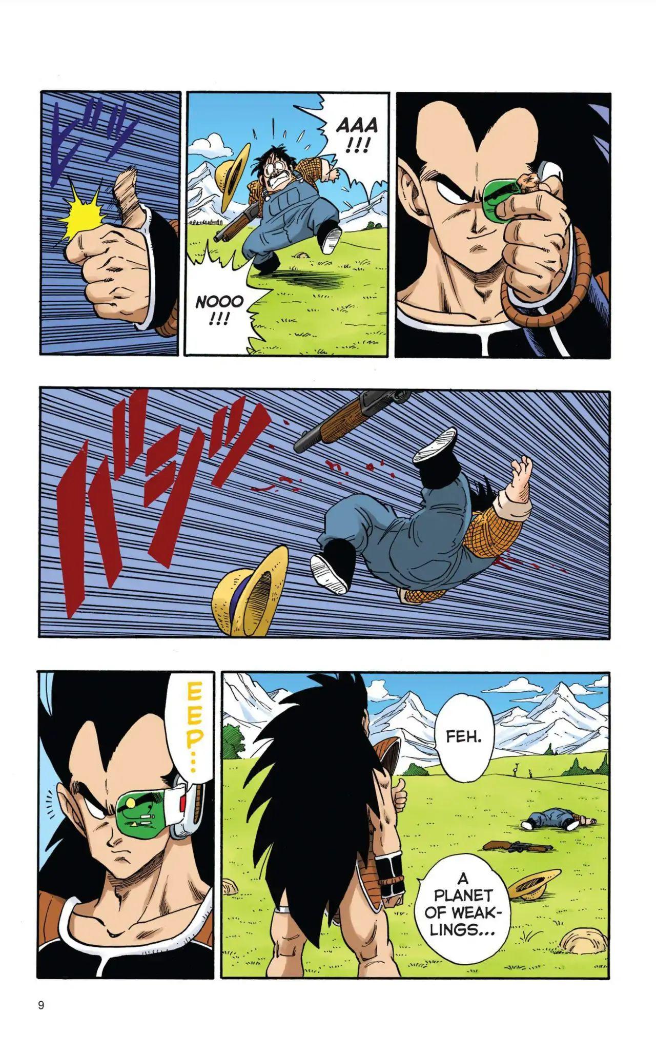Dragon Ball Full Color Saiyan Arc Chapter 1  Online Free Manga Read Image 10
