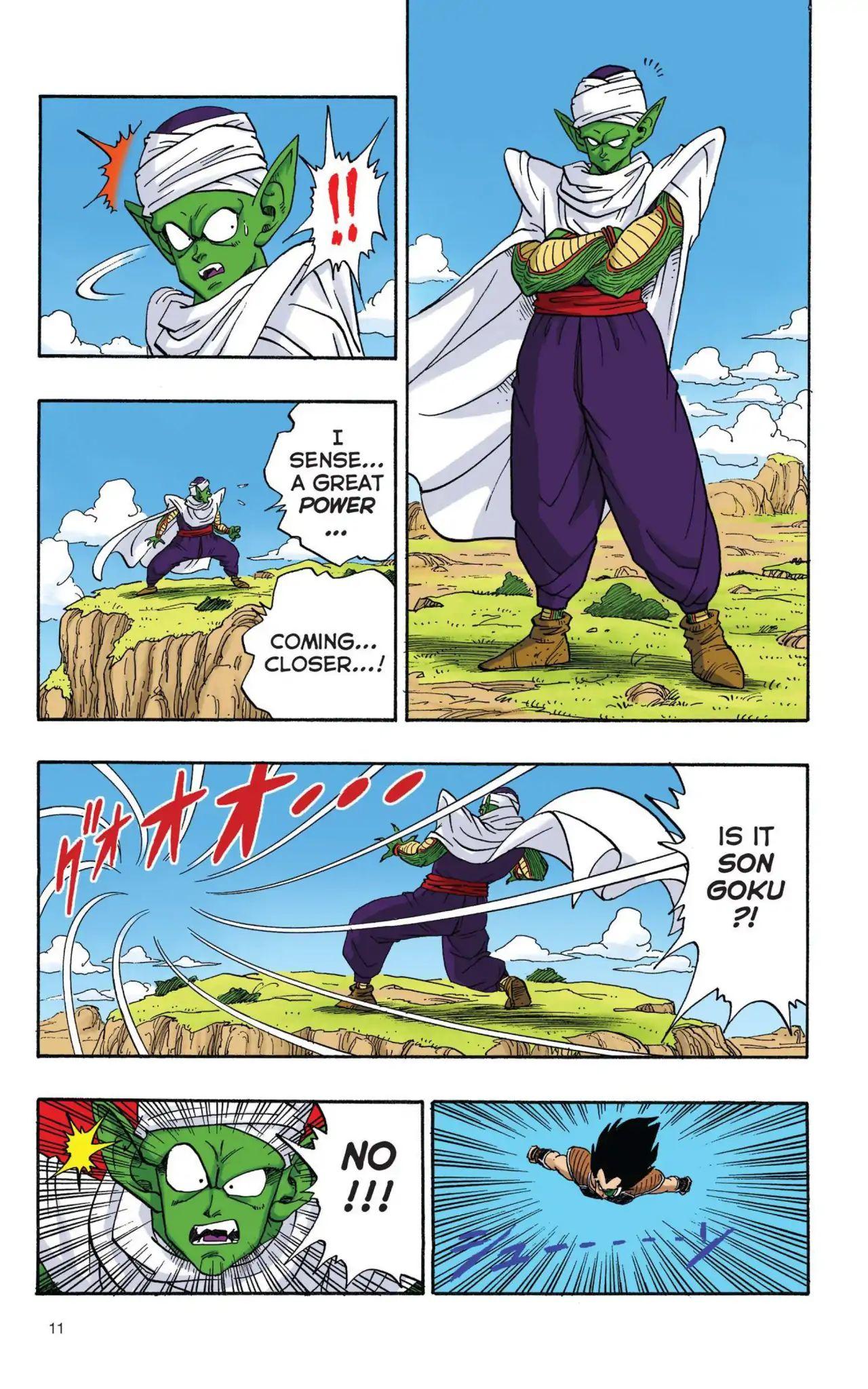Dragon Ball Full Color Saiyan Arc Chapter 1  Online Free Manga Read Image 12