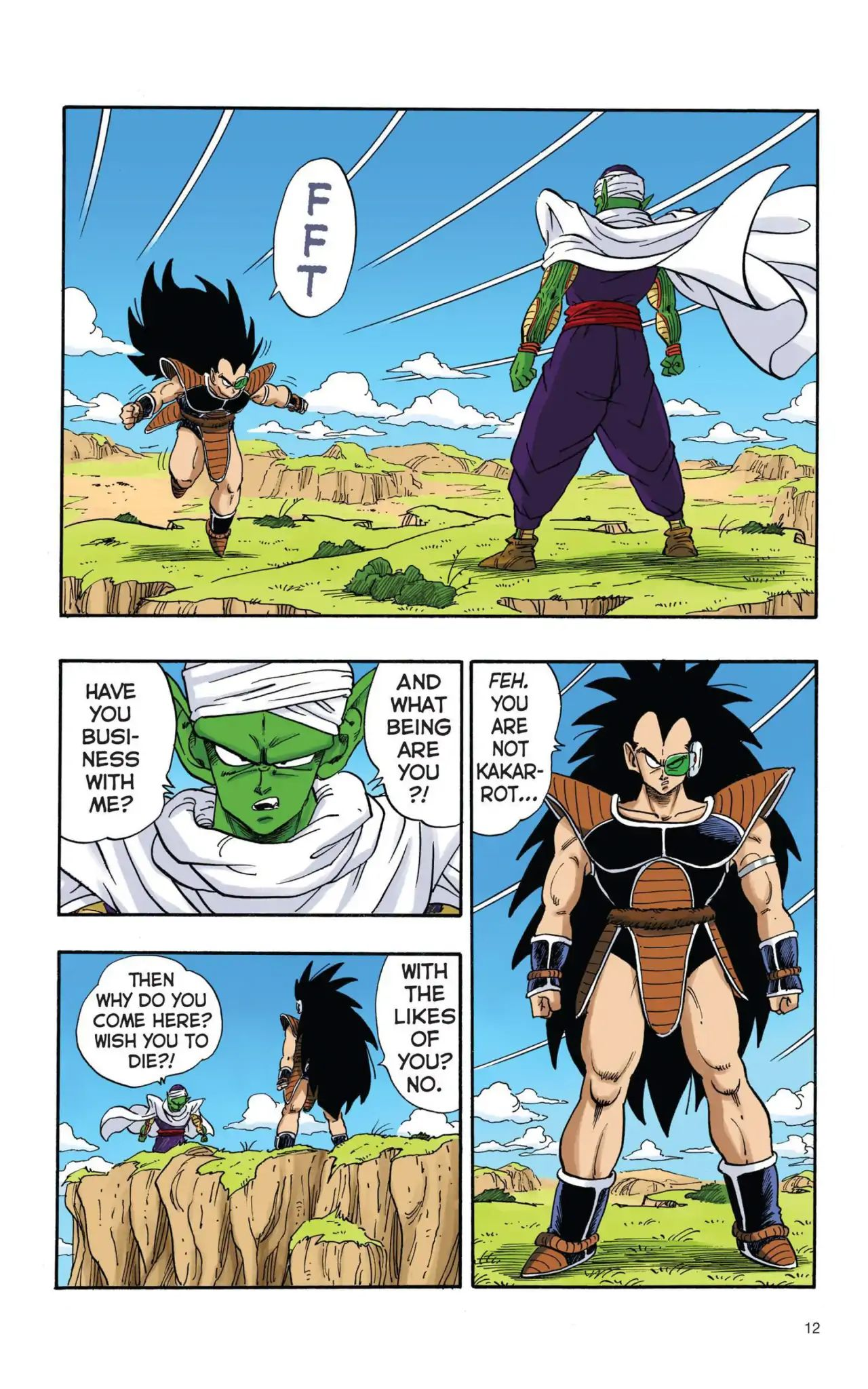 Dragon Ball Full Color Saiyan Arc Chapter 1  Online Free Manga Read Image 13