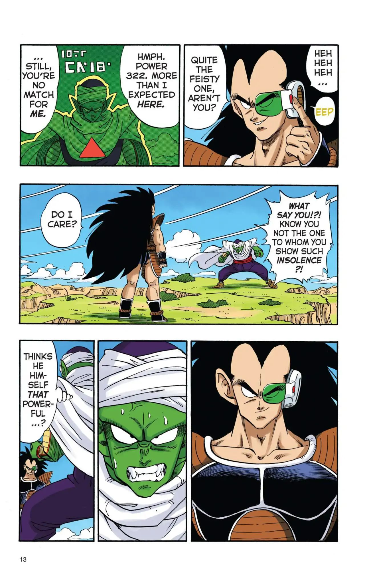 Dragon Ball Full Color Saiyan Arc Chapter 1  Online Free Manga Read Image 14