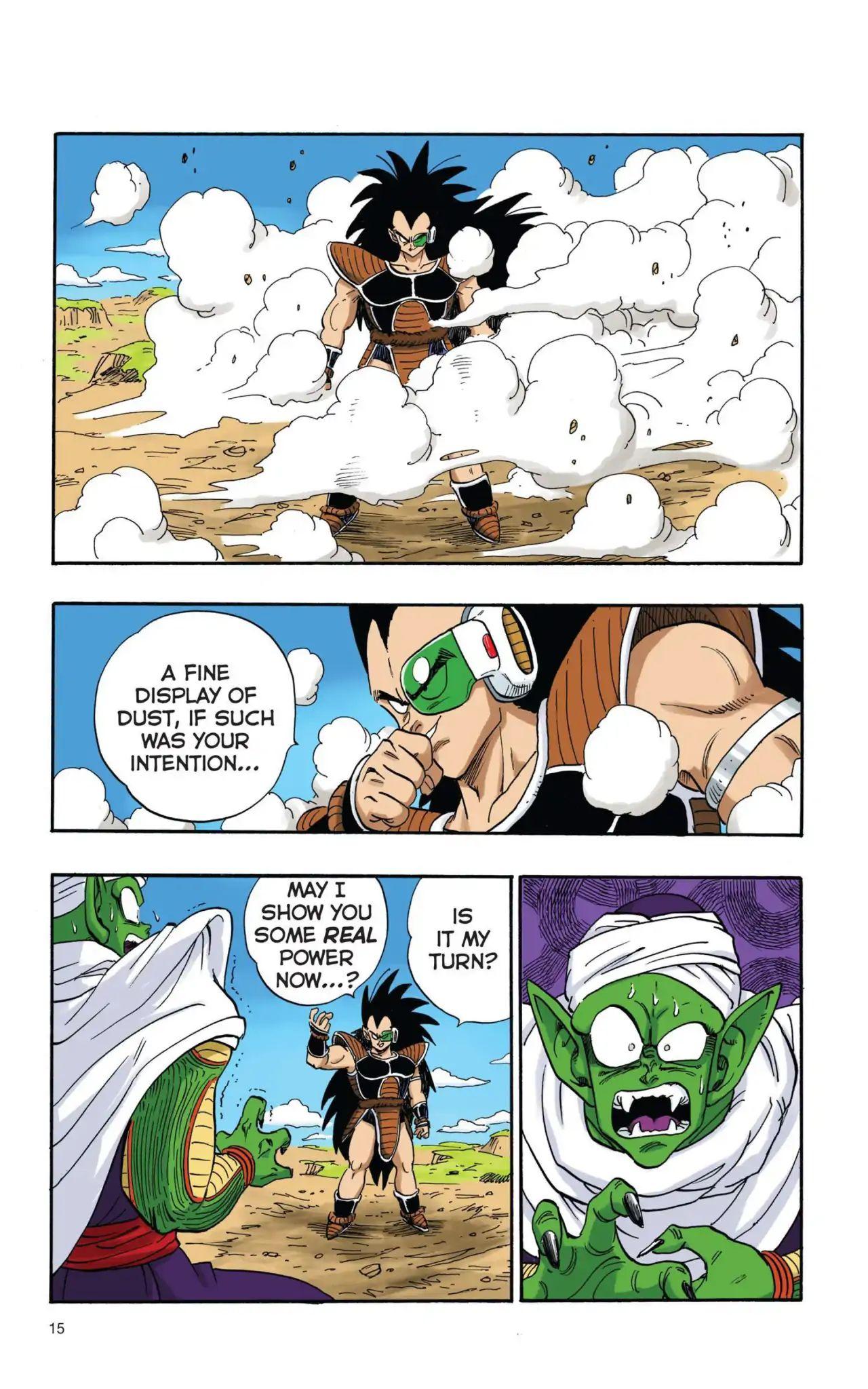 Dragon Ball Full Color Saiyan Arc Chapter 1  Online Free Manga Read Image 16