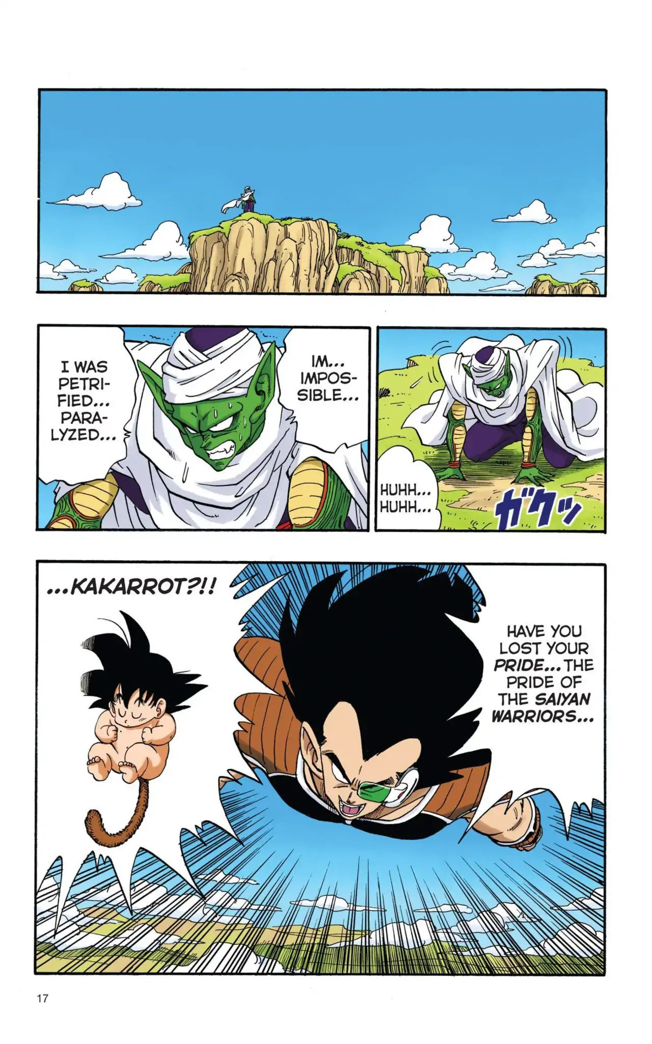 Dragon Ball Full Color Saiyan Arc Chapter 1  Online Free Manga Read Image 18