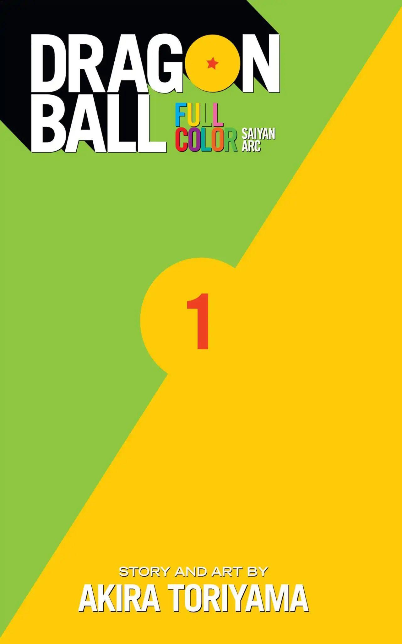 Dragon Ball Full Color Saiyan Arc Chapter 1  Online Free Manga Read Image 2