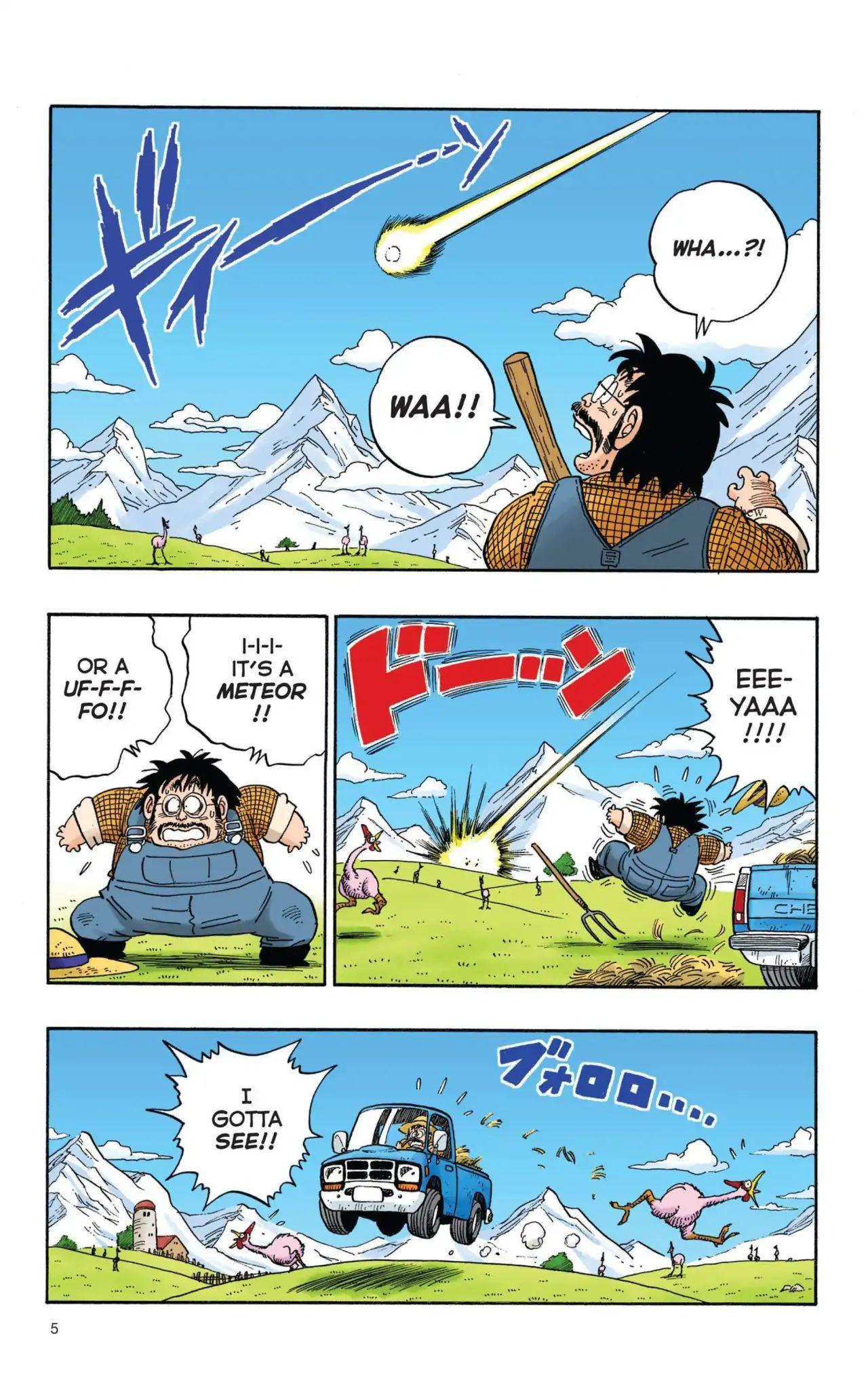 Dragon Ball Full Color Saiyan Arc Chapter 1  Online Free Manga Read Image 6
