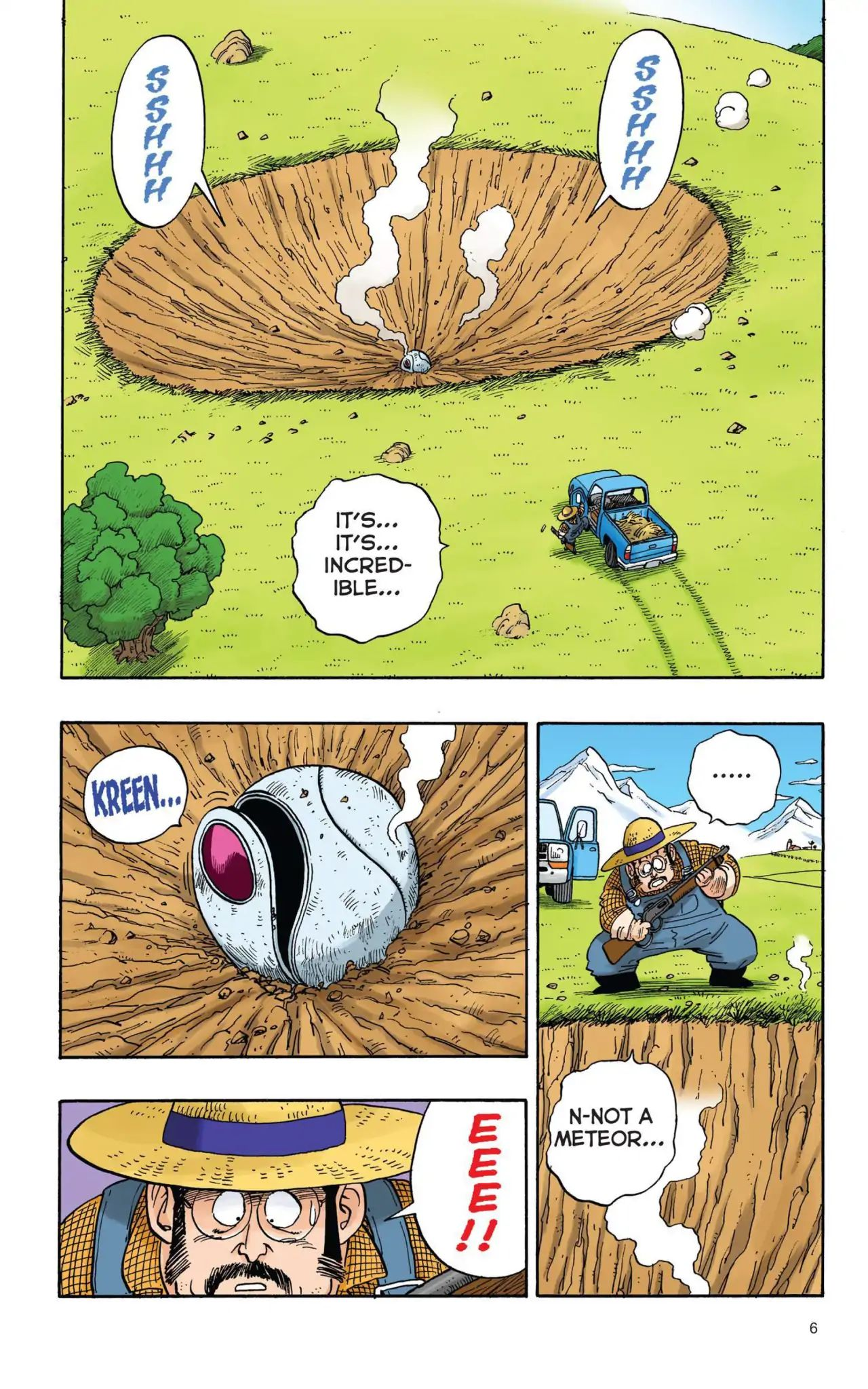 Dragon Ball Full Color Saiyan Arc Chapter 1  Online Free Manga Read Image 7