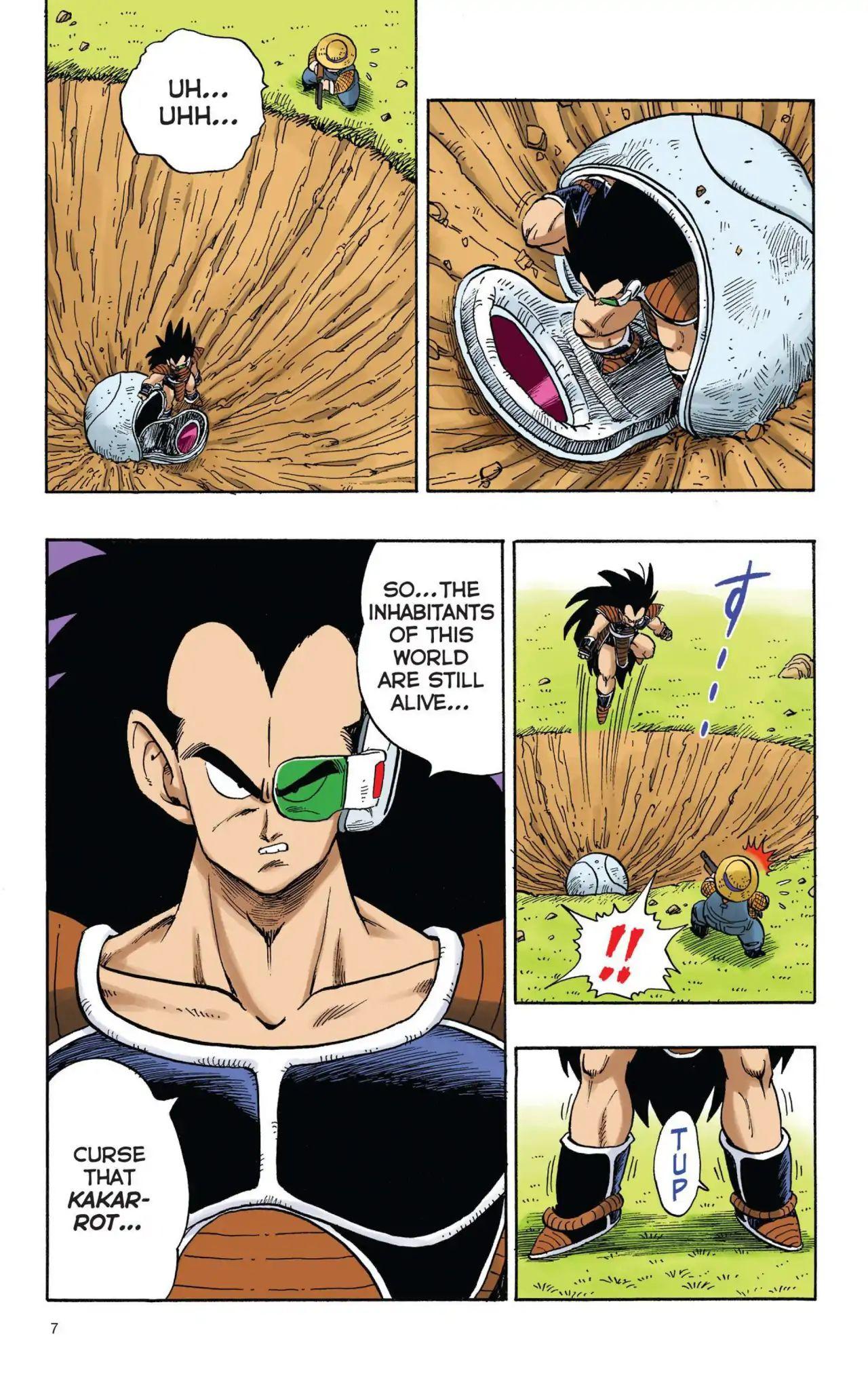 Dragon Ball Full Color Saiyan Arc Chapter 1  Online Free Manga Read Image 8