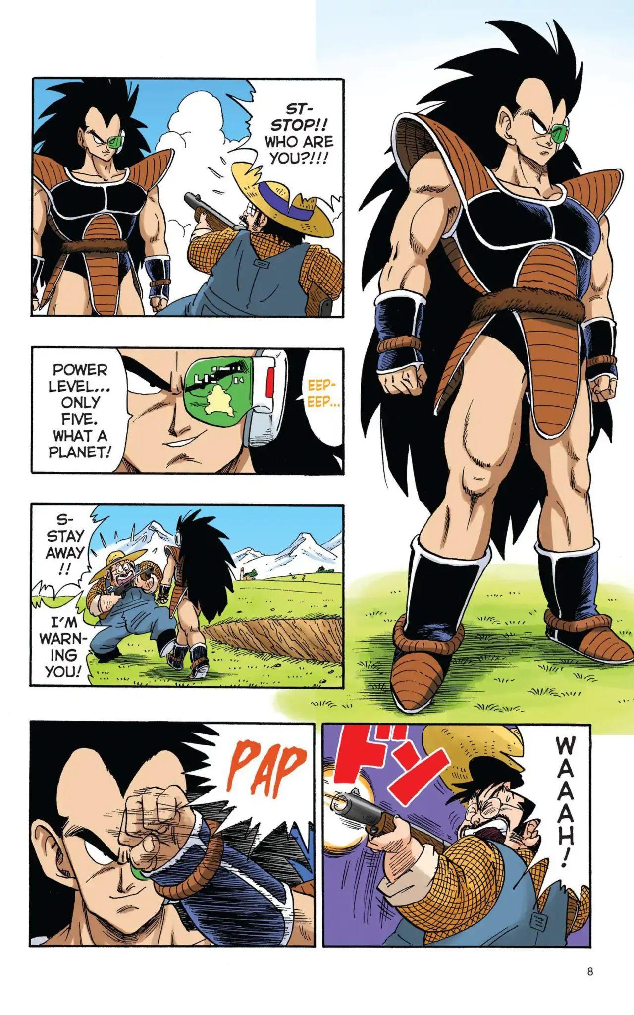 Dragon Ball Full Color Saiyan Arc Chapter 1  Online Free Manga Read Image 9