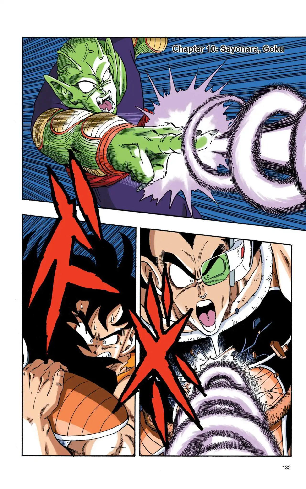 Dragon Ball Full Color Saiyan Arc Chapter 10  Online Free Manga Read Image 1