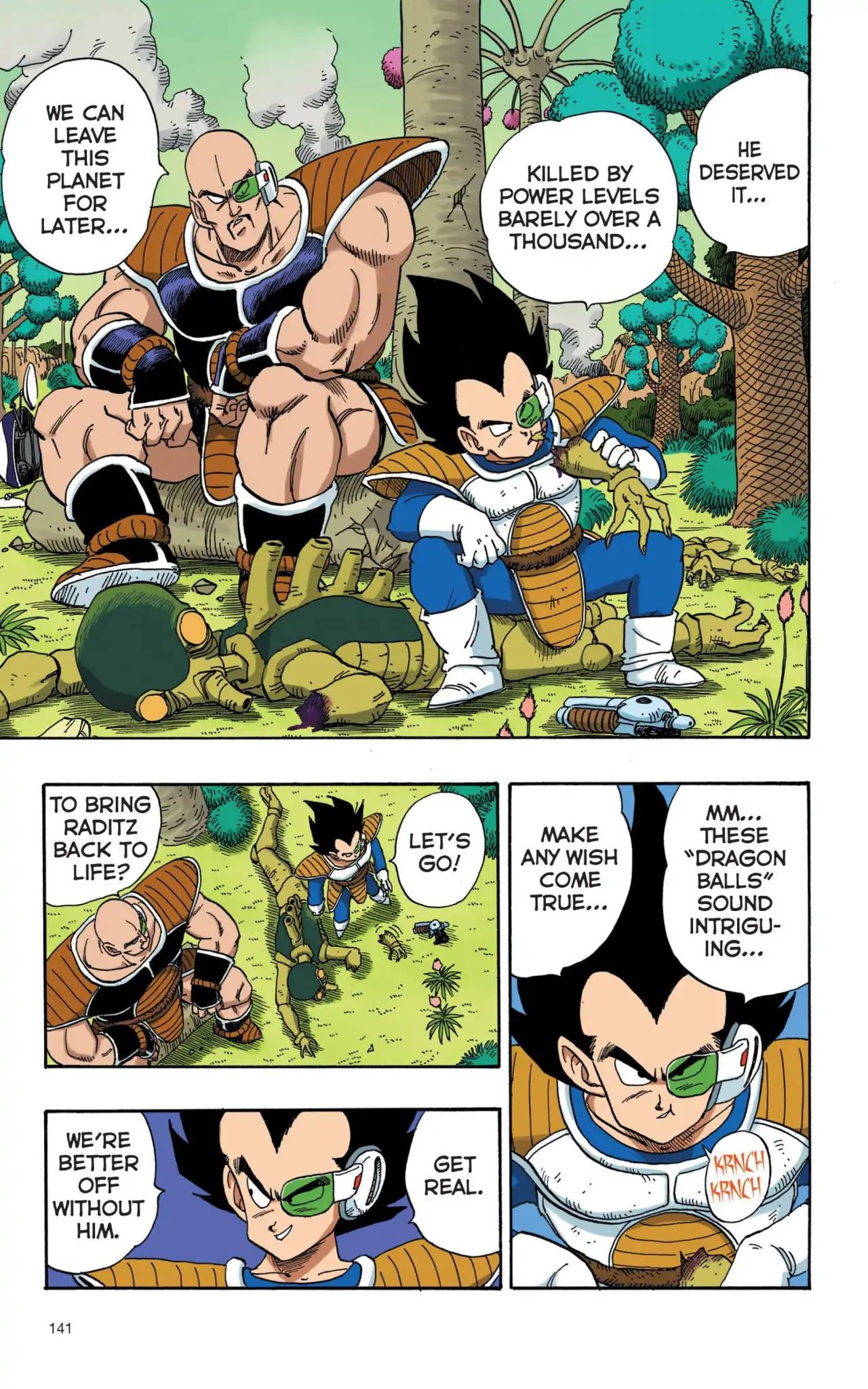 Dragon Ball Full Color Saiyan Arc Chapter 10  Online Free Manga Read Image 10