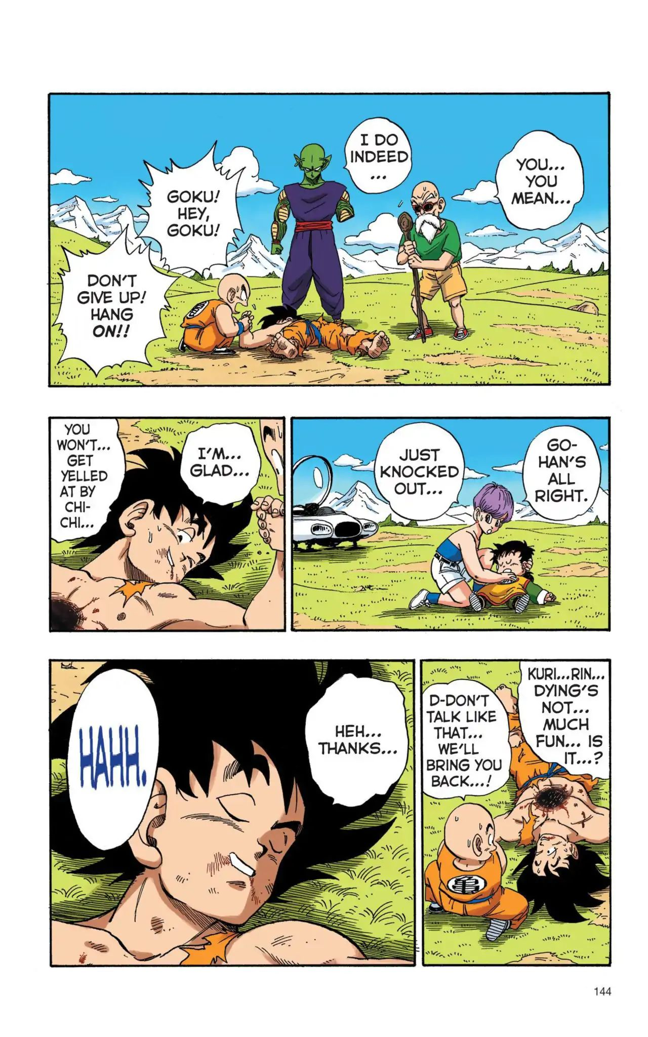 Dragon Ball Full Color Saiyan Arc Chapter 10  Online Free Manga Read Image 13