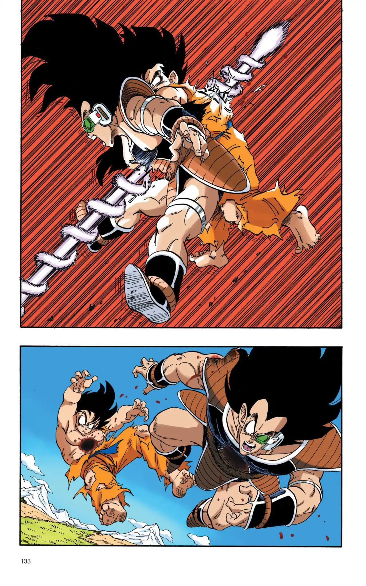 Dragon Ball Full Color Saiyan Arc Chapter 10  Online Free Manga Read Image 2