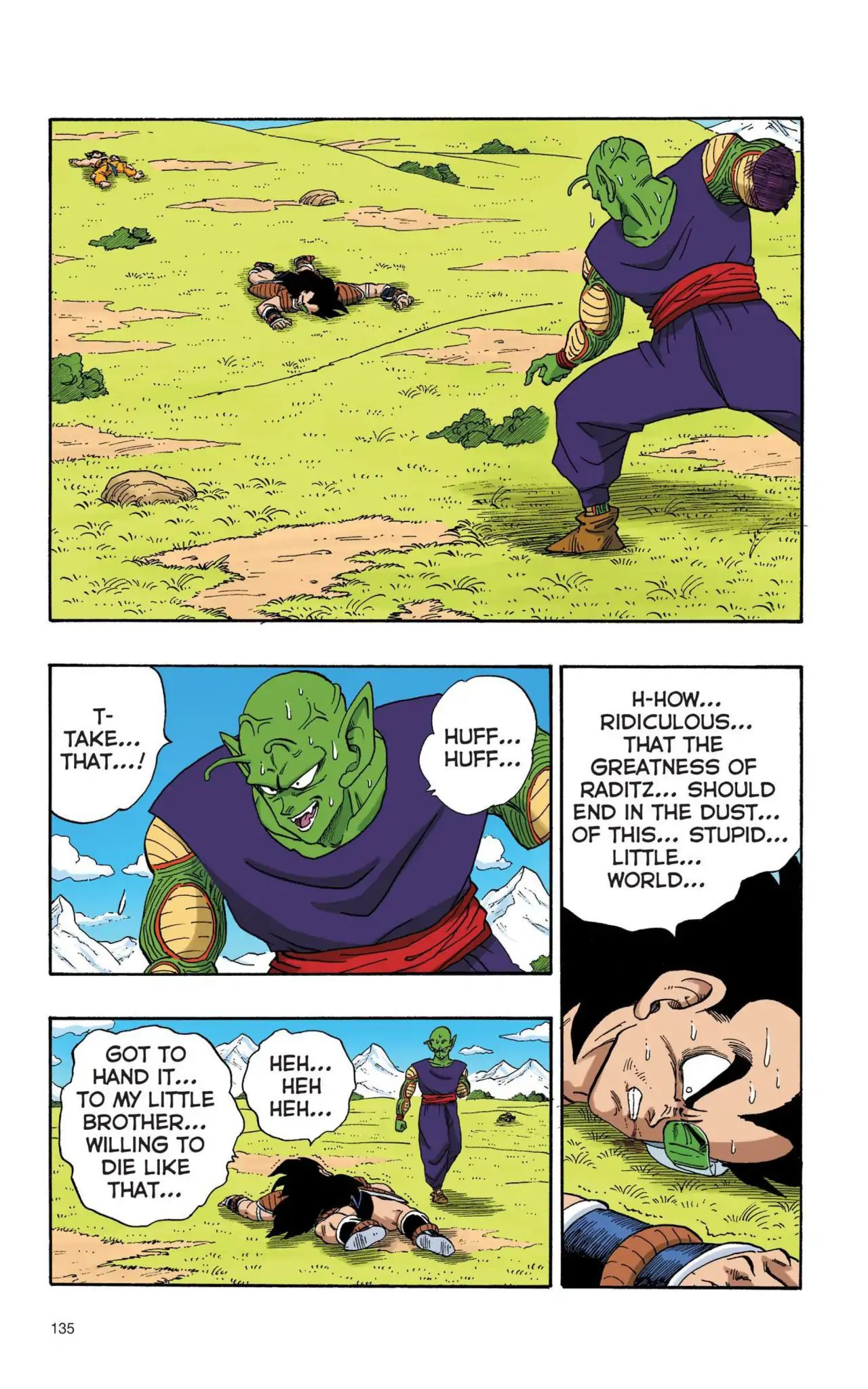 Dragon Ball Full Color Saiyan Arc Chapter 10  Online Free Manga Read Image 4