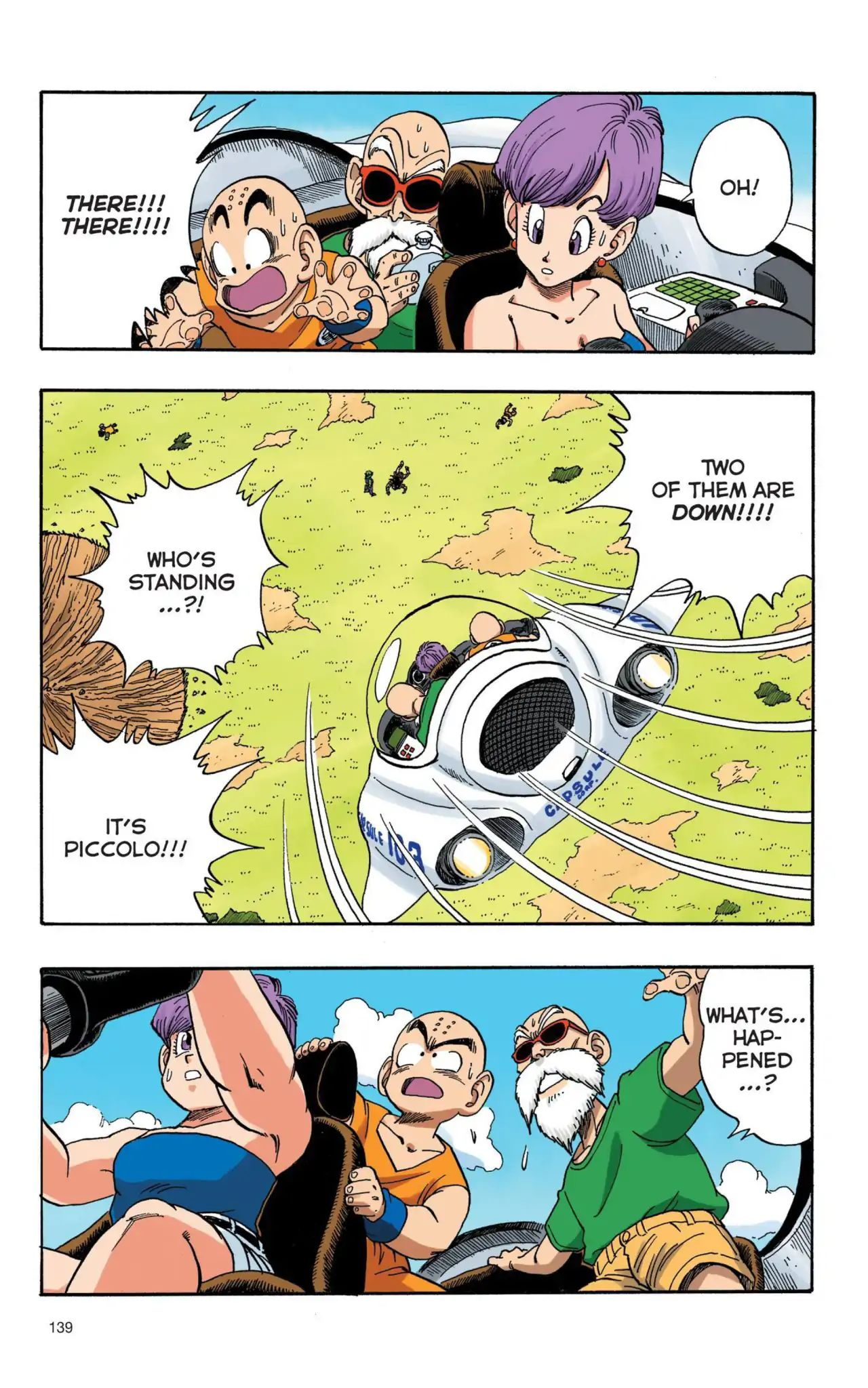 Dragon Ball Full Color Saiyan Arc Chapter 10  Online Free Manga Read Image 8