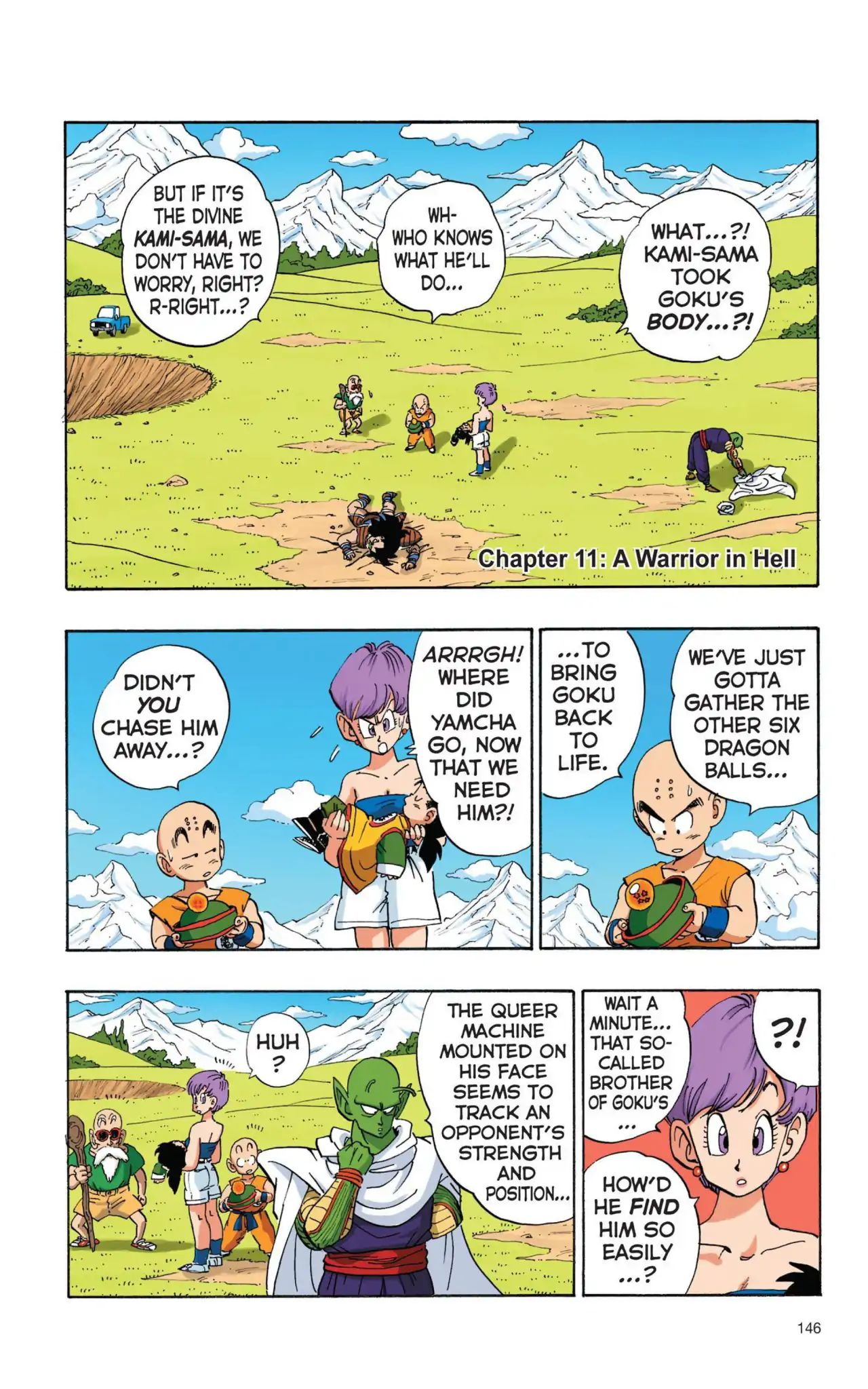 Dragon Ball Full Color Saiyan Arc Chapter 11  Online Free Manga Read Image 1