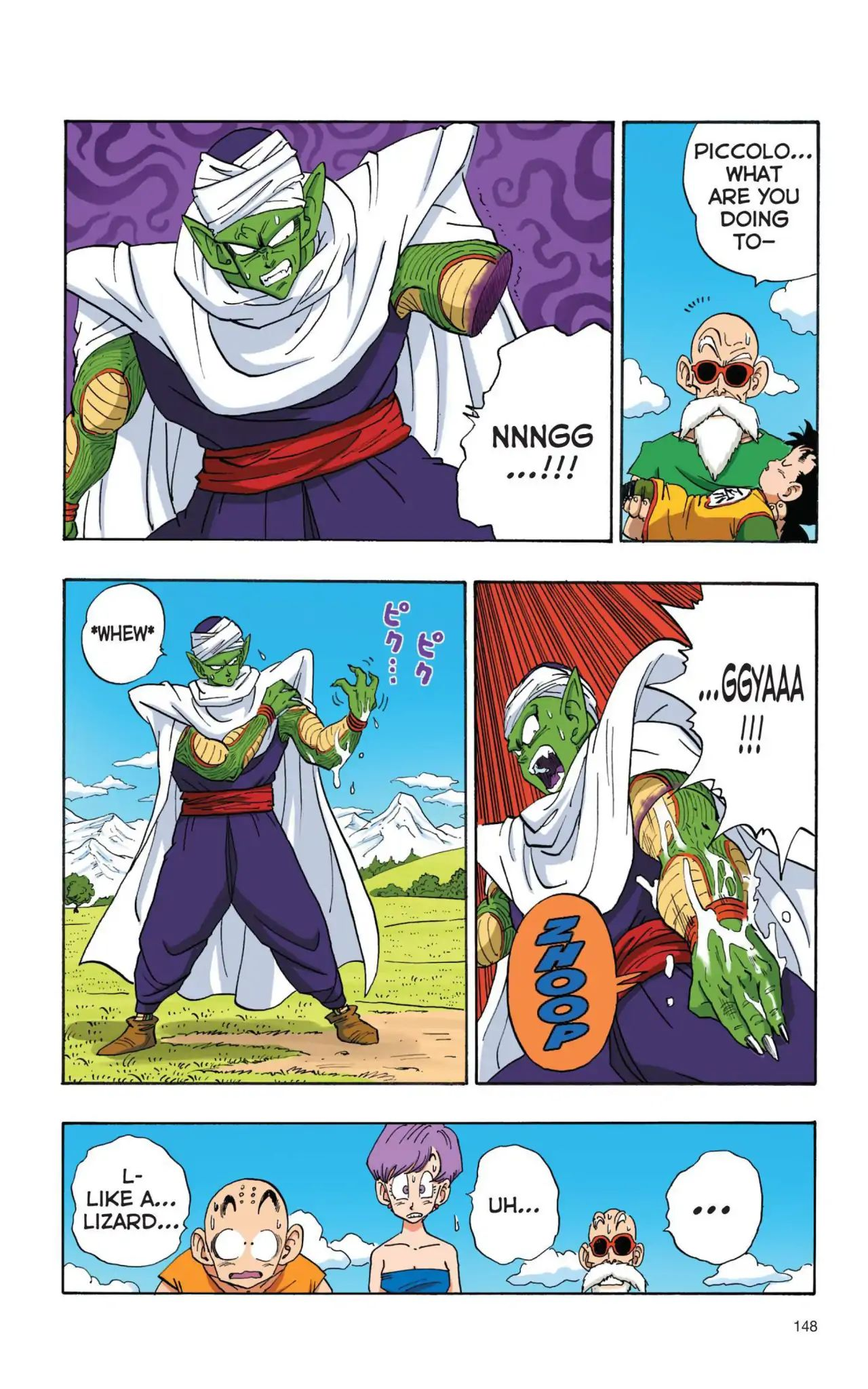 Dragon Ball Full Color Saiyan Arc Chapter 11  Online Free Manga Read Image 3