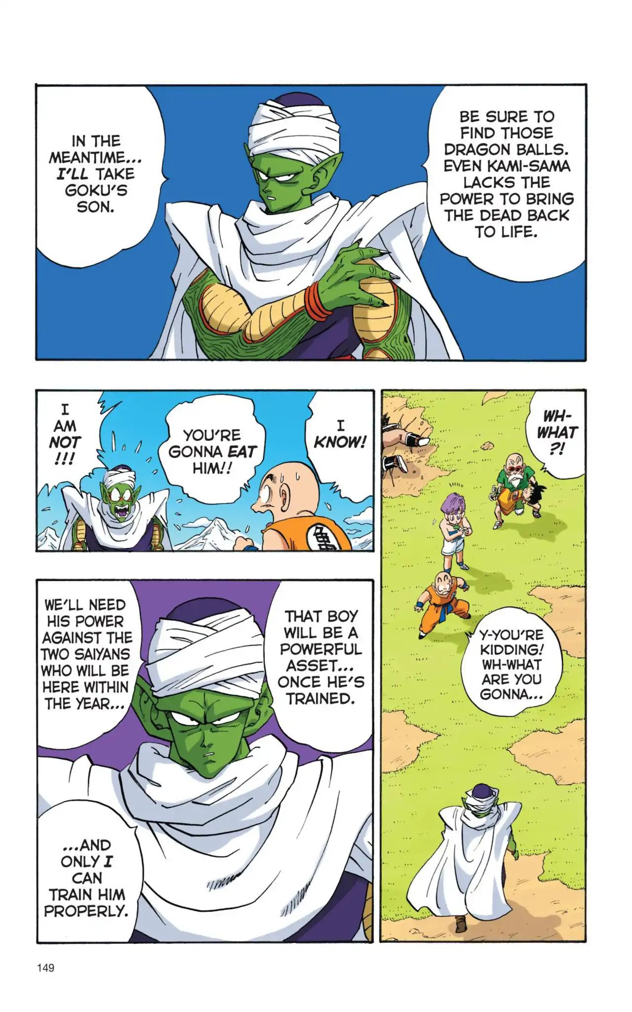 Dragon Ball Full Color Saiyan Arc Chapter 11  Online Free Manga Read Image 4