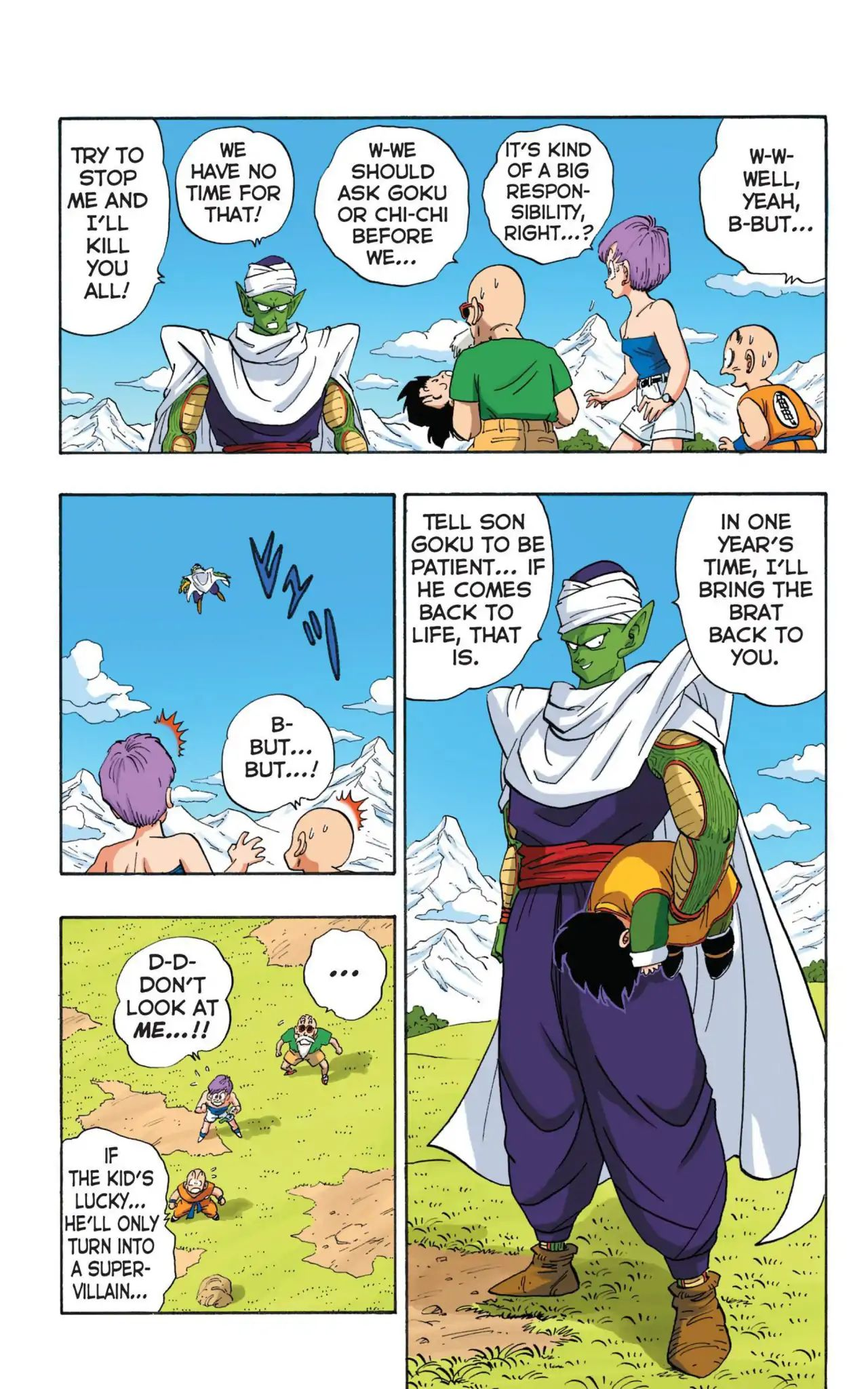 Dragon Ball Full Color Saiyan Arc Chapter 11  Online Free Manga Read Image 5