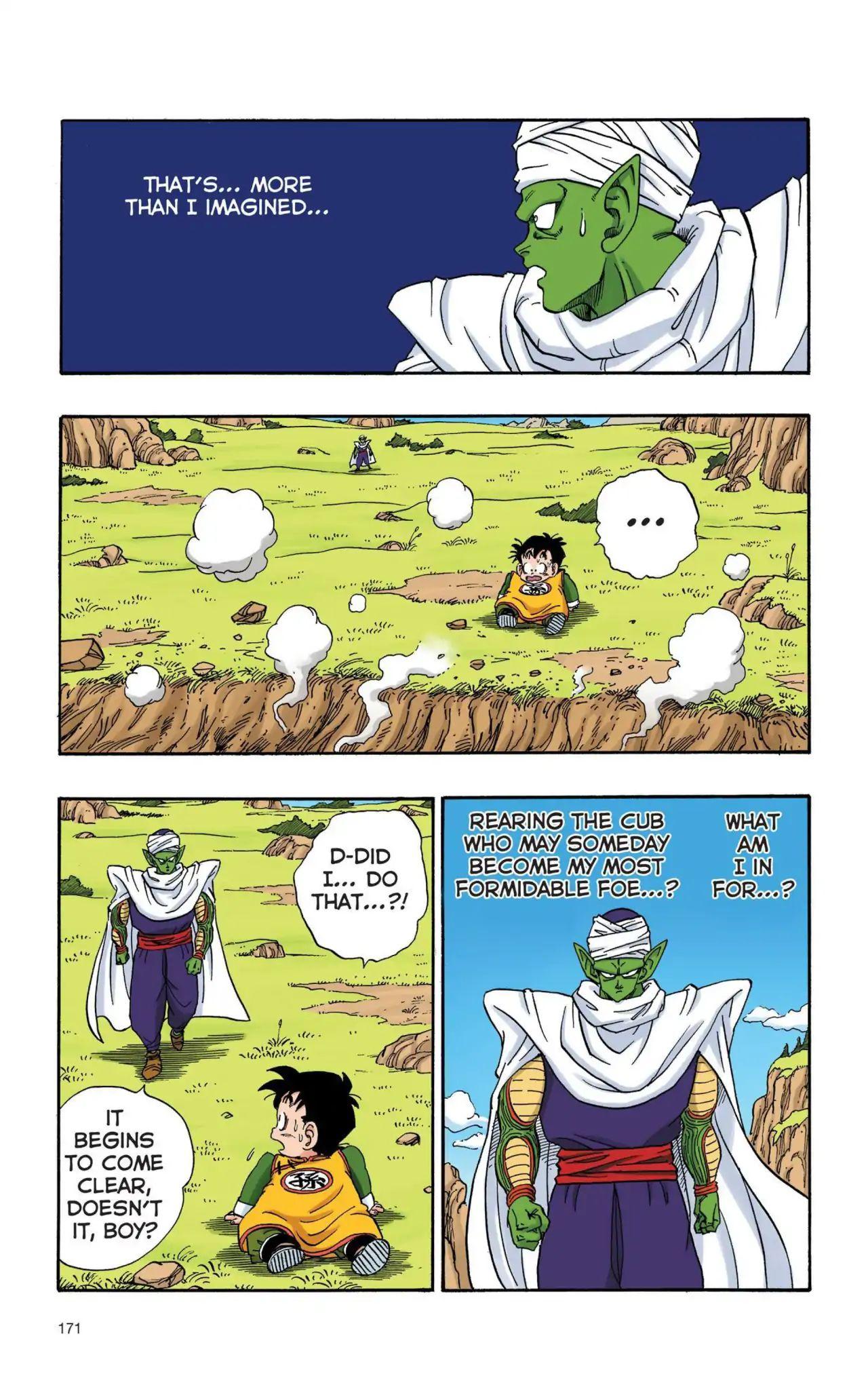 Dragon Ball Full Color Saiyan Arc Chapter 12  Online Free Manga Read Image 12