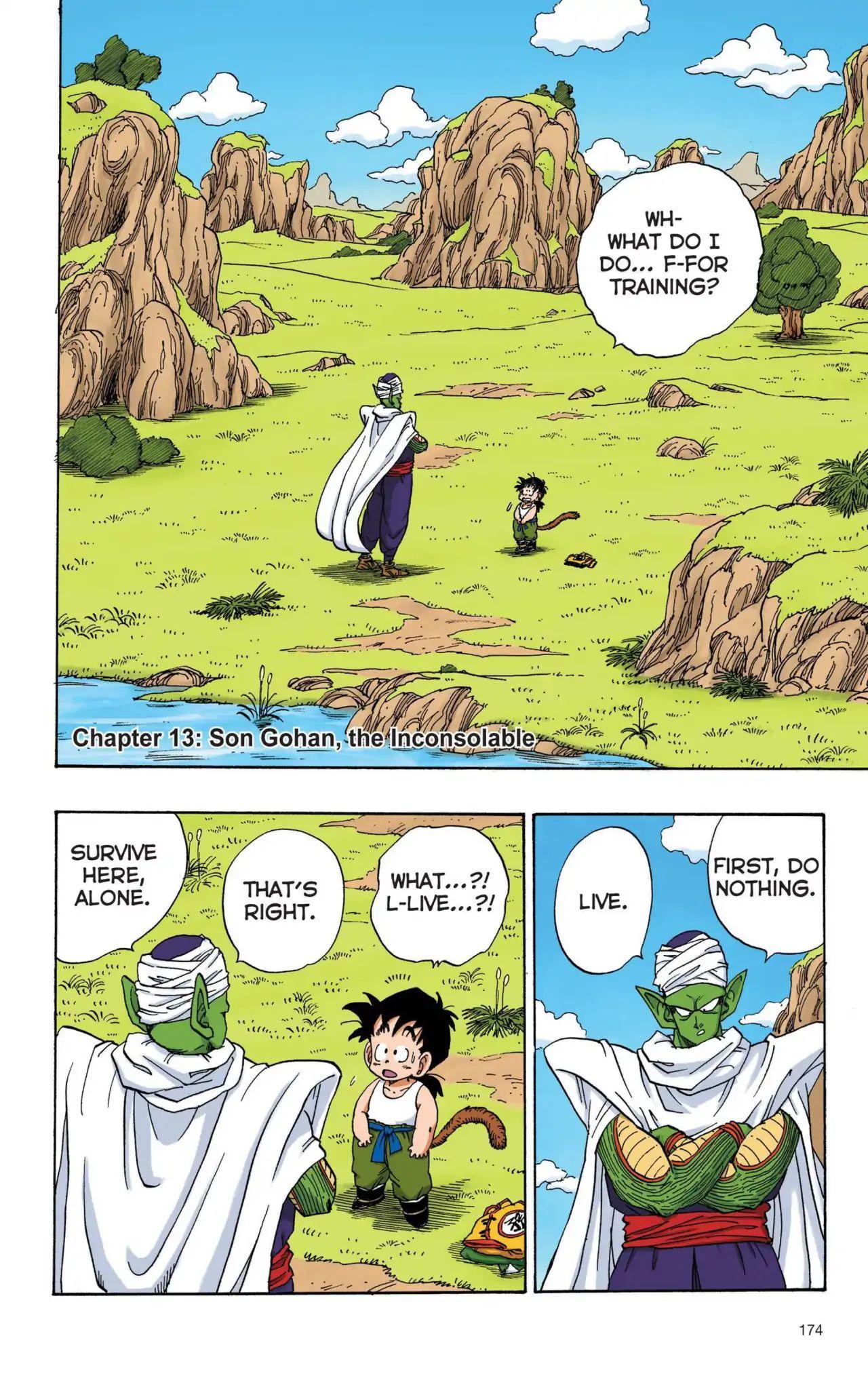 Dragon Ball Full Color Saiyan Arc Chapter 13  Online Free Manga Read Image 1