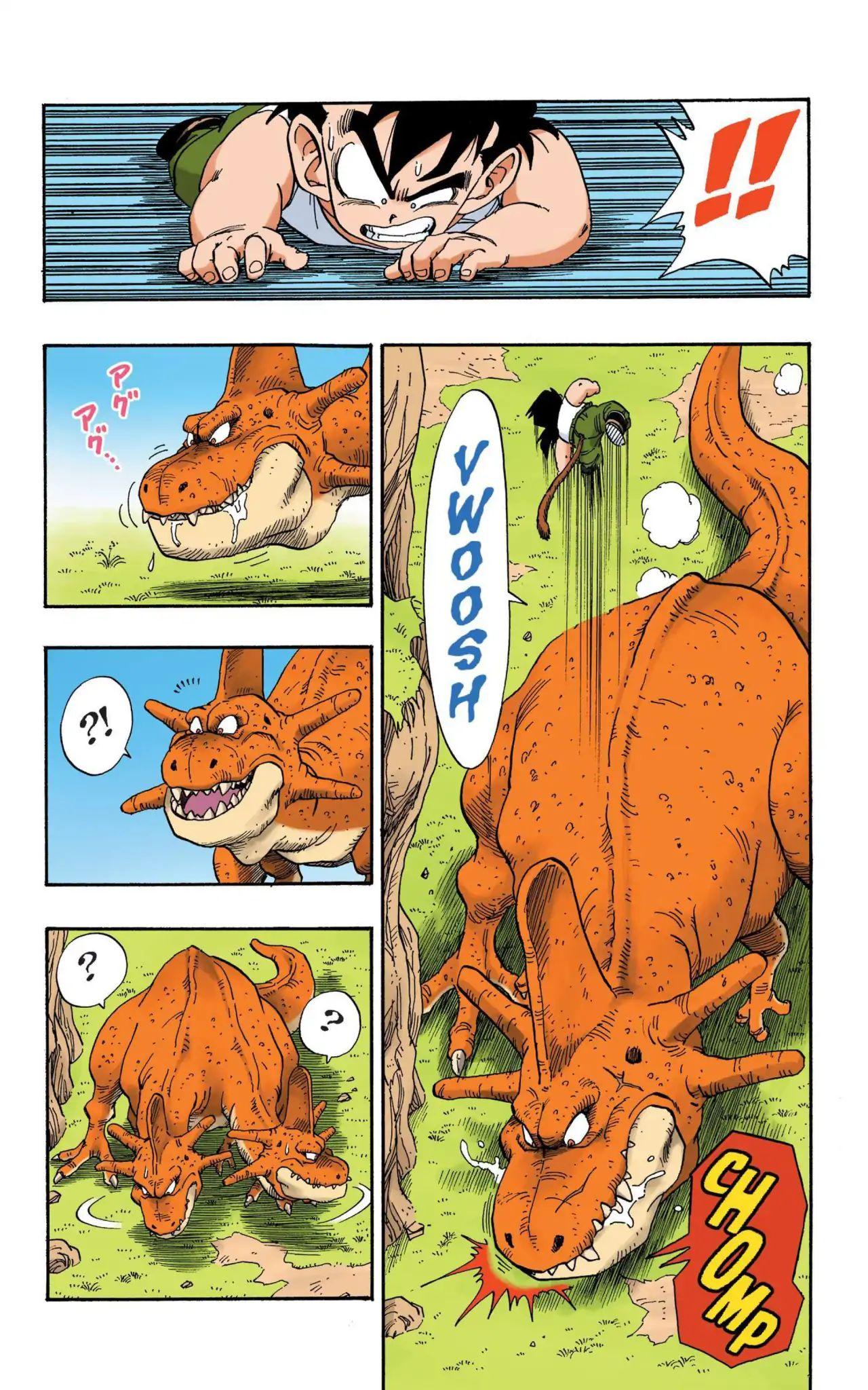 Dragon Ball Full Color Saiyan Arc Chapter 13  Online Free Manga Read Image 10