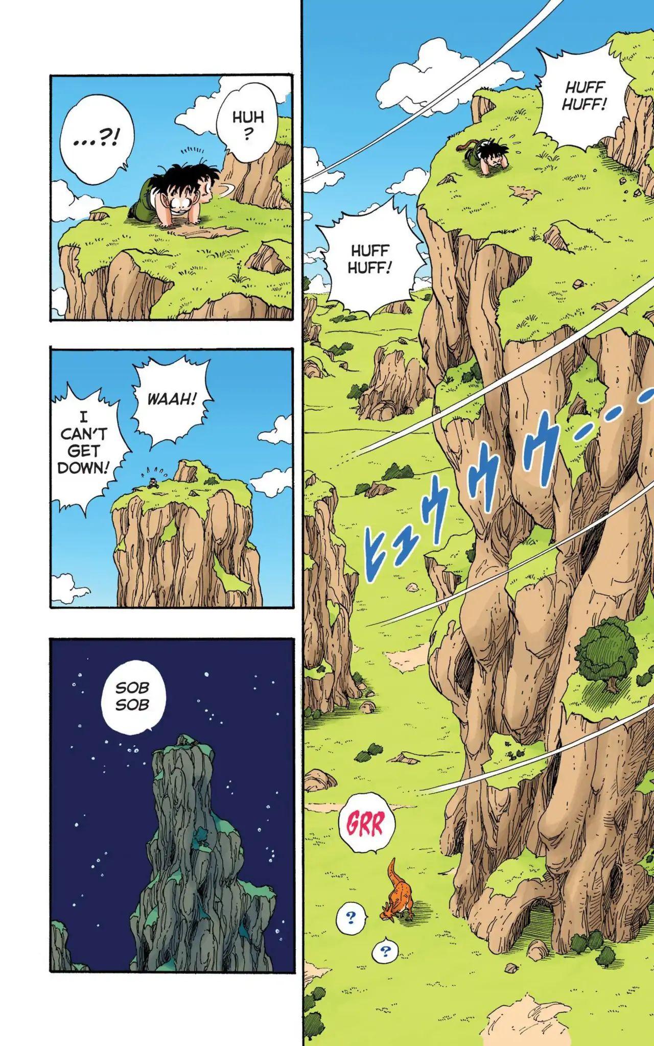 Dragon Ball Full Color Saiyan Arc Chapter 13  Online Free Manga Read Image 11