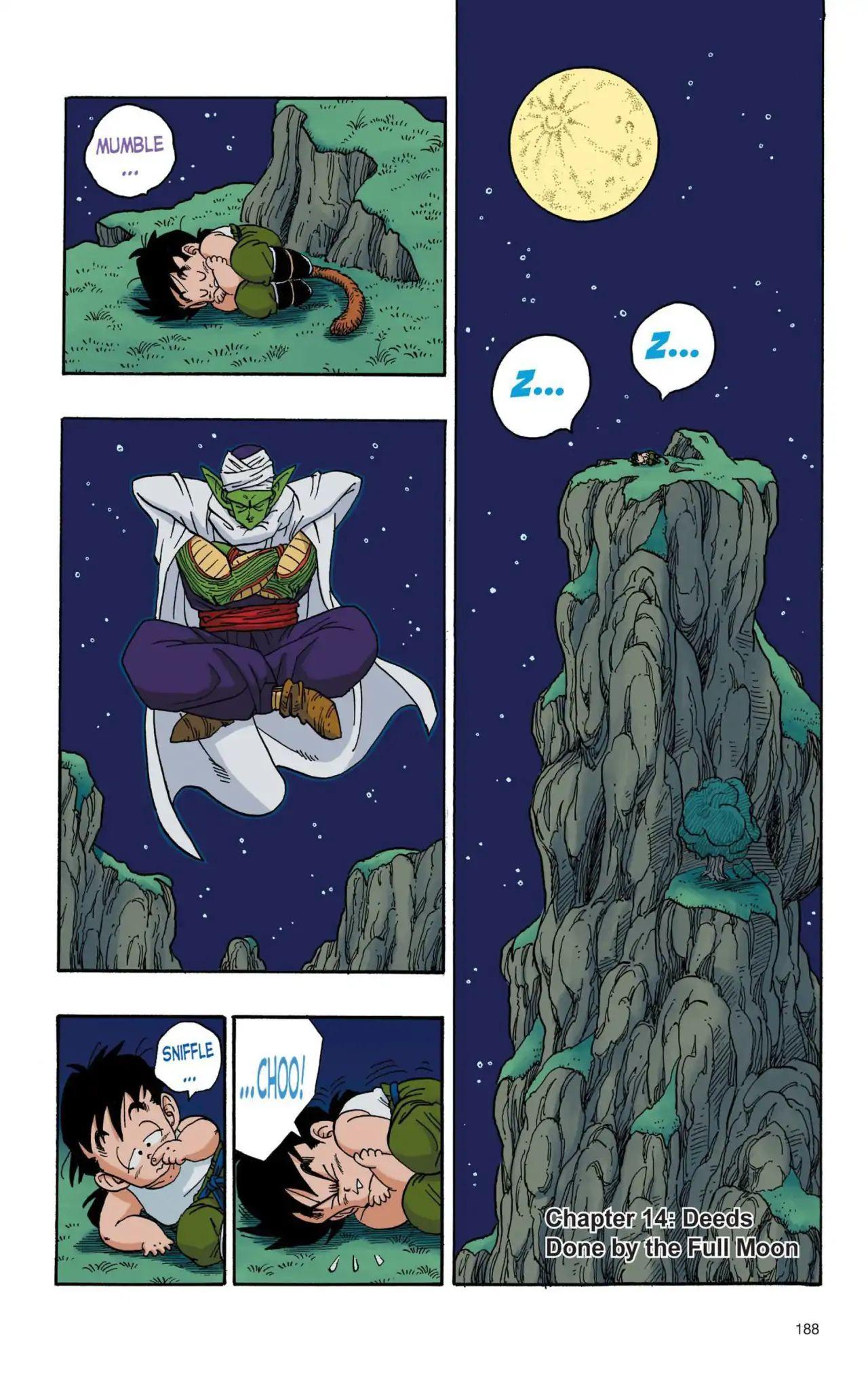 Dragon Ball Full Color Saiyan Arc Chapter 14  Online Free Manga Read Image 1