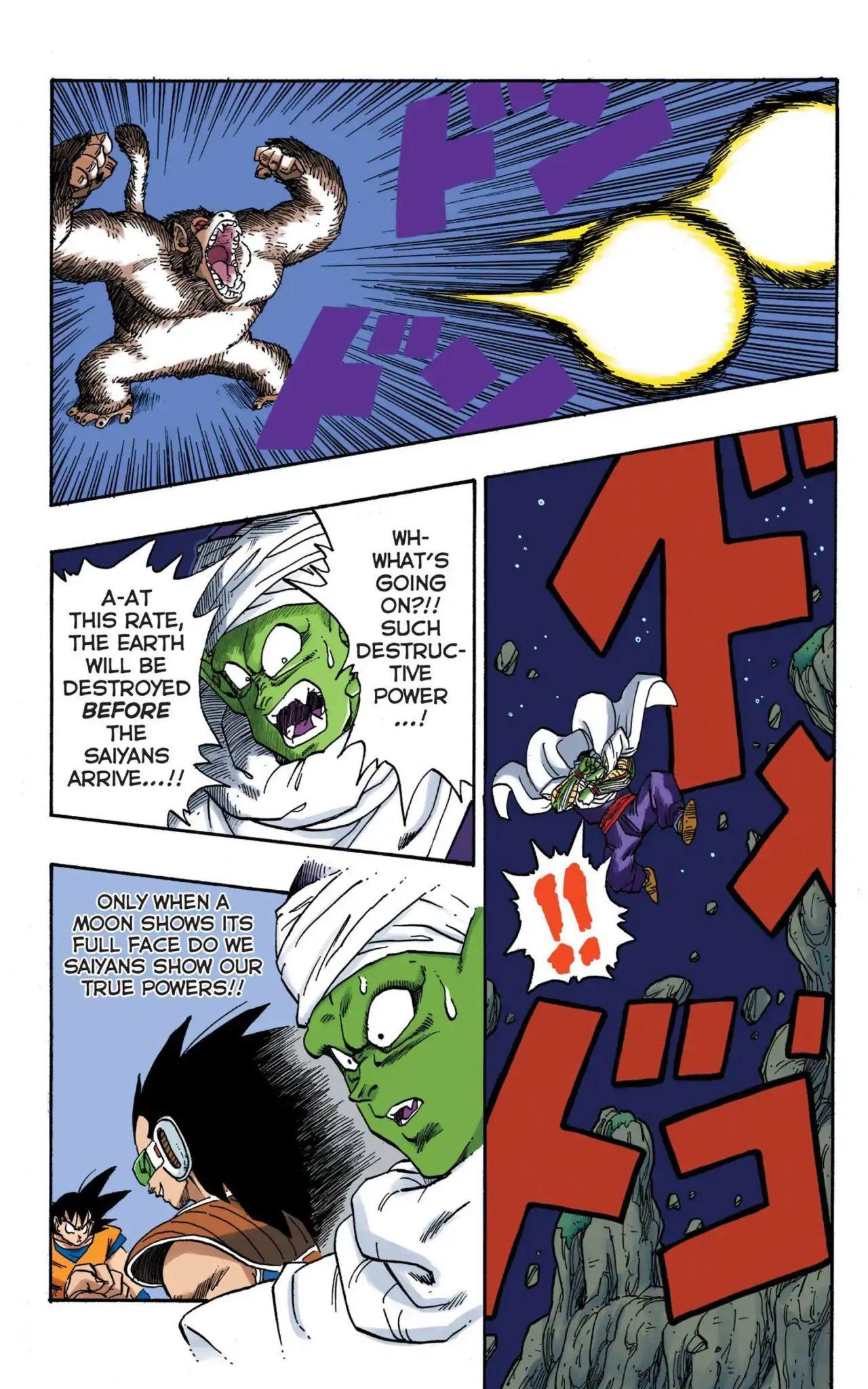 Dragon Ball Full Color Saiyan Arc Chapter 14  Online Free Manga Read Image 9