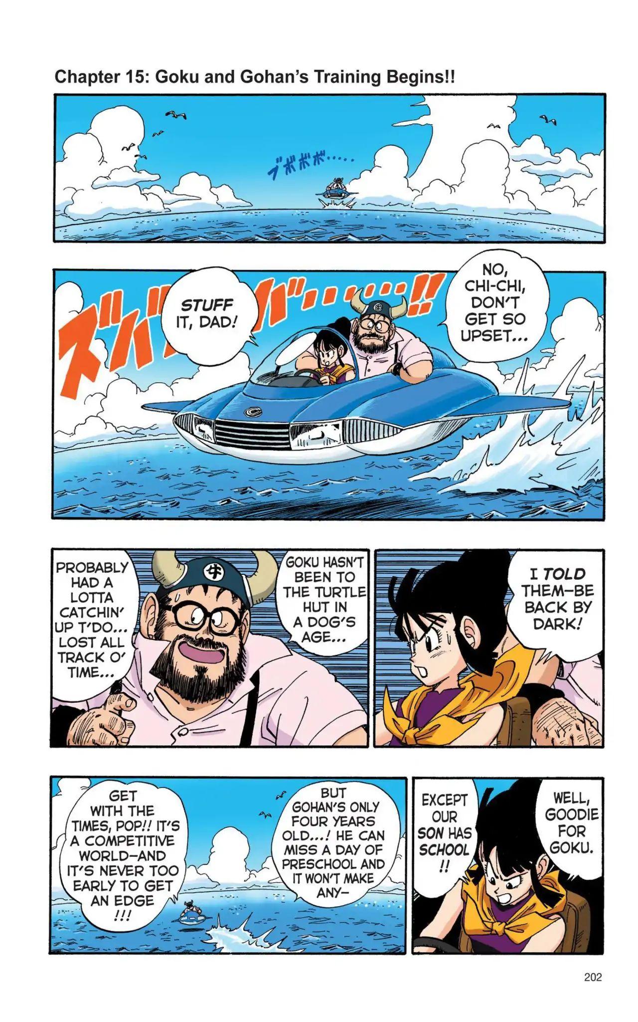 Dragon Ball Full Color Saiyan Arc Chapter 15  Online Free Manga Read Image 1