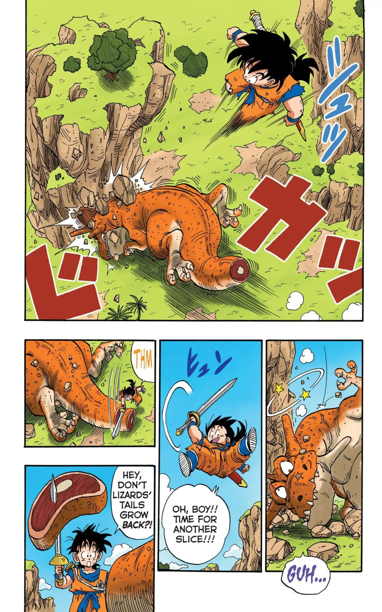 Dragon Ball Full Color Saiyan Arc Chapter 15  Online Free Manga Read Image 13