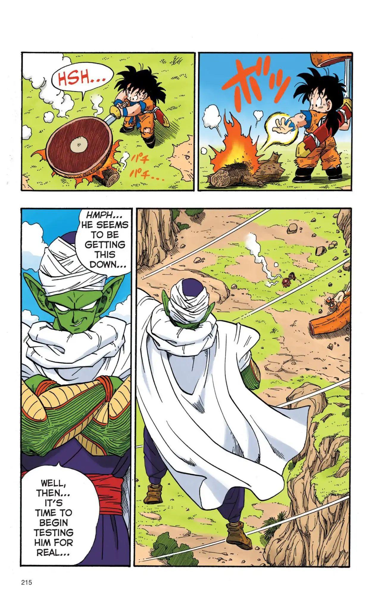 Dragon Ball Full Color Saiyan Arc Chapter 15  Online Free Manga Read Image 14
