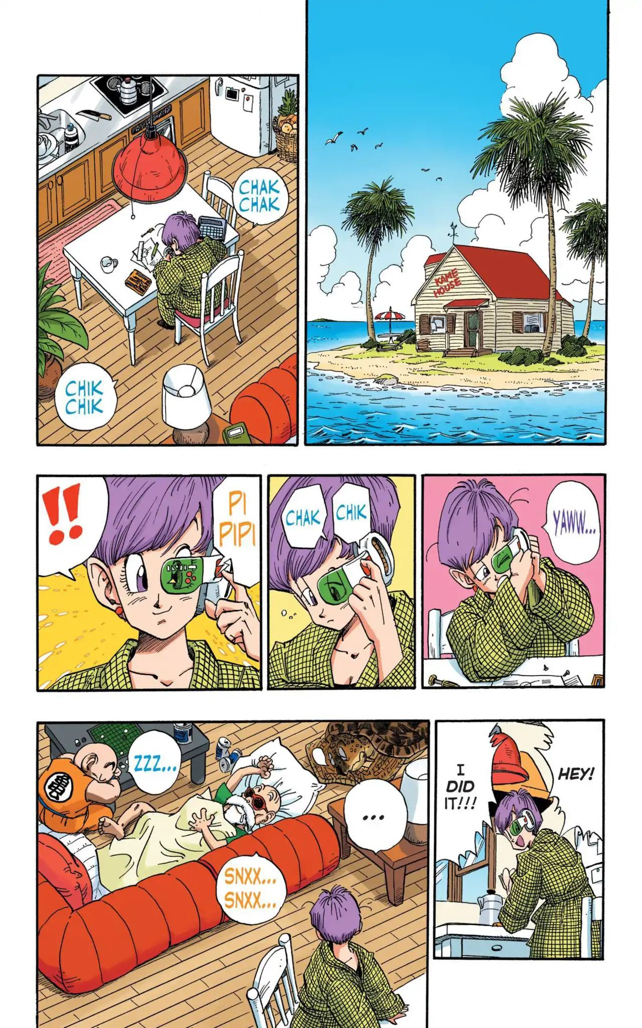 Dragon Ball Full Color Saiyan Arc Chapter 15  Online Free Manga Read Image 2