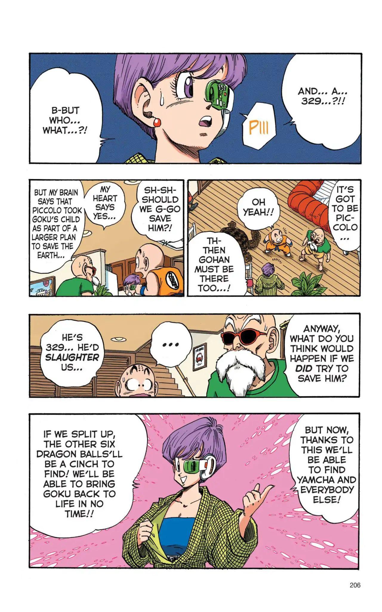 Dragon Ball Full Color Saiyan Arc Chapter 15  Online Free Manga Read Image 5