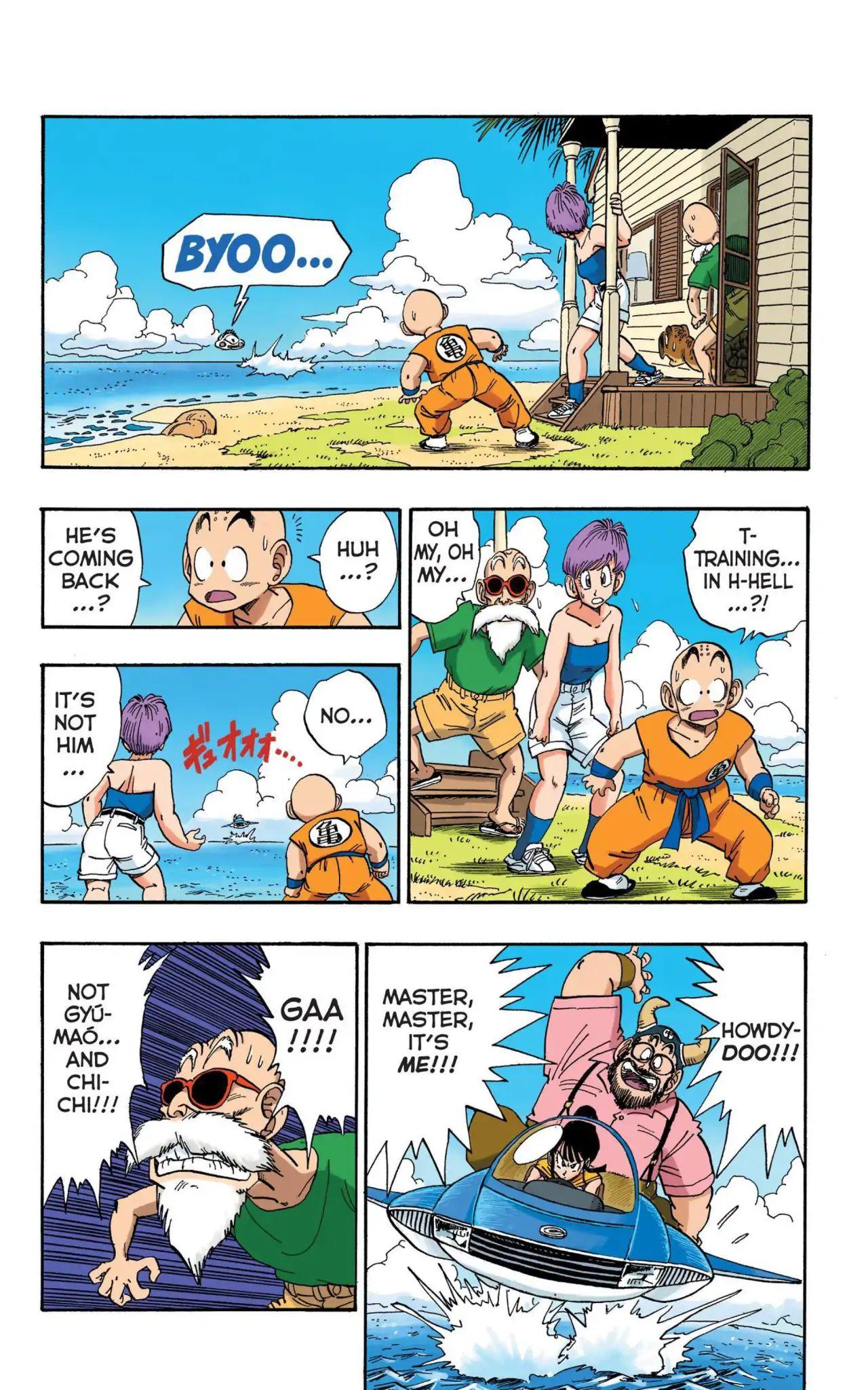 Dragon Ball Full Color Saiyan Arc Chapter 15  Online Free Manga Read Image 8