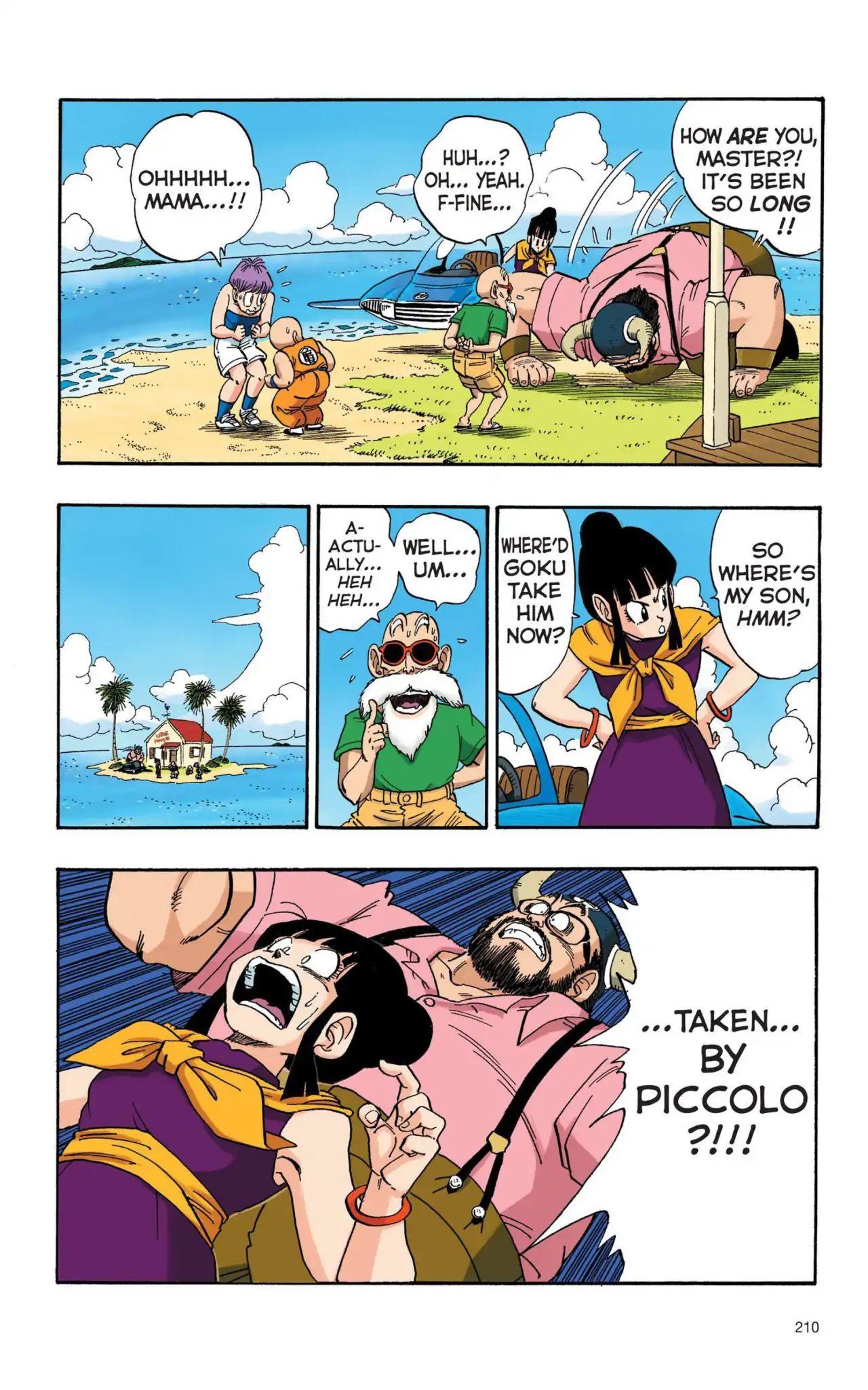 Dragon Ball Full Color Saiyan Arc Chapter 15  Online Free Manga Read Image 9