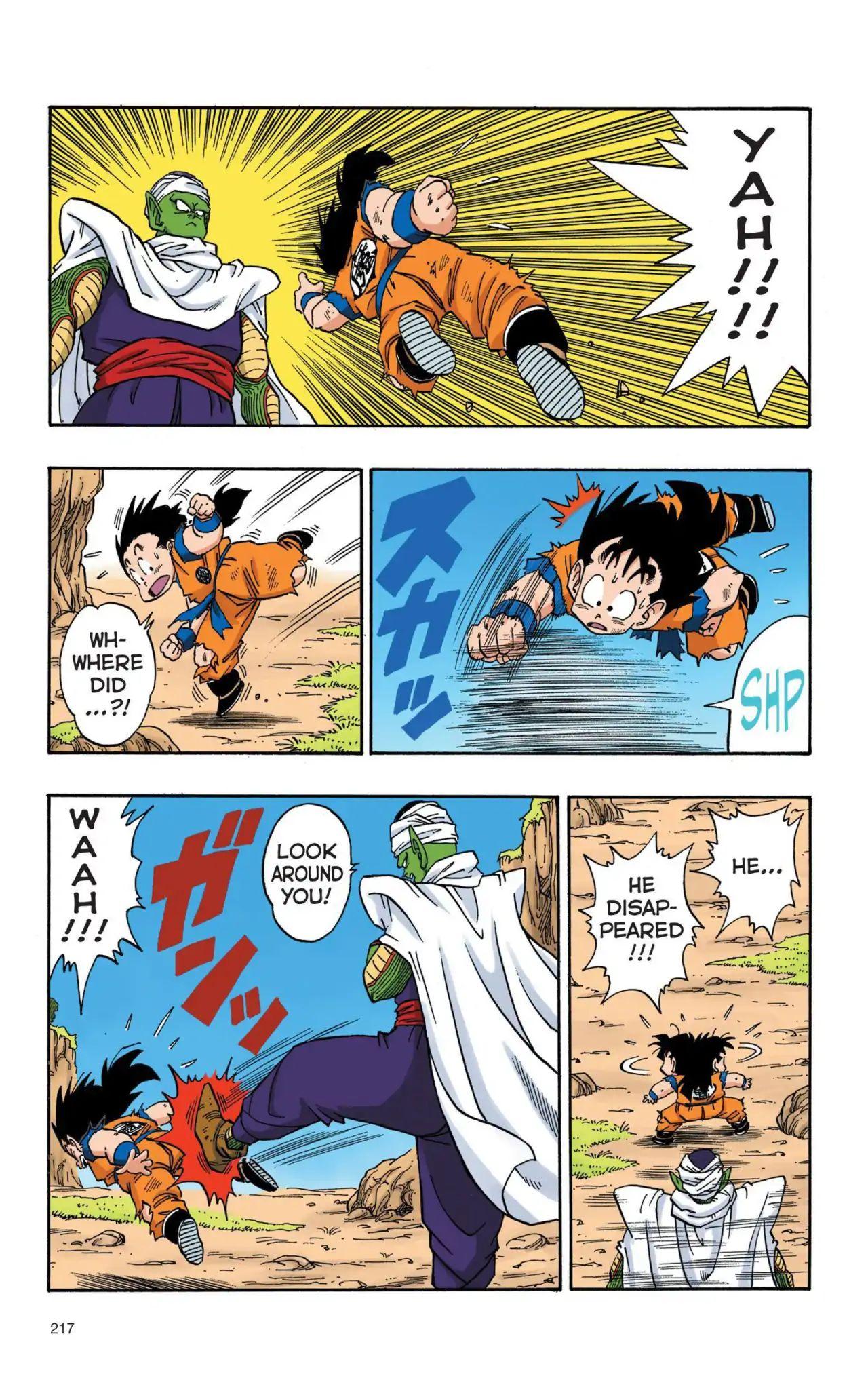 Dragon Ball Full Color Saiyan Arc Chapter 16  Online Free Manga Read Image 2