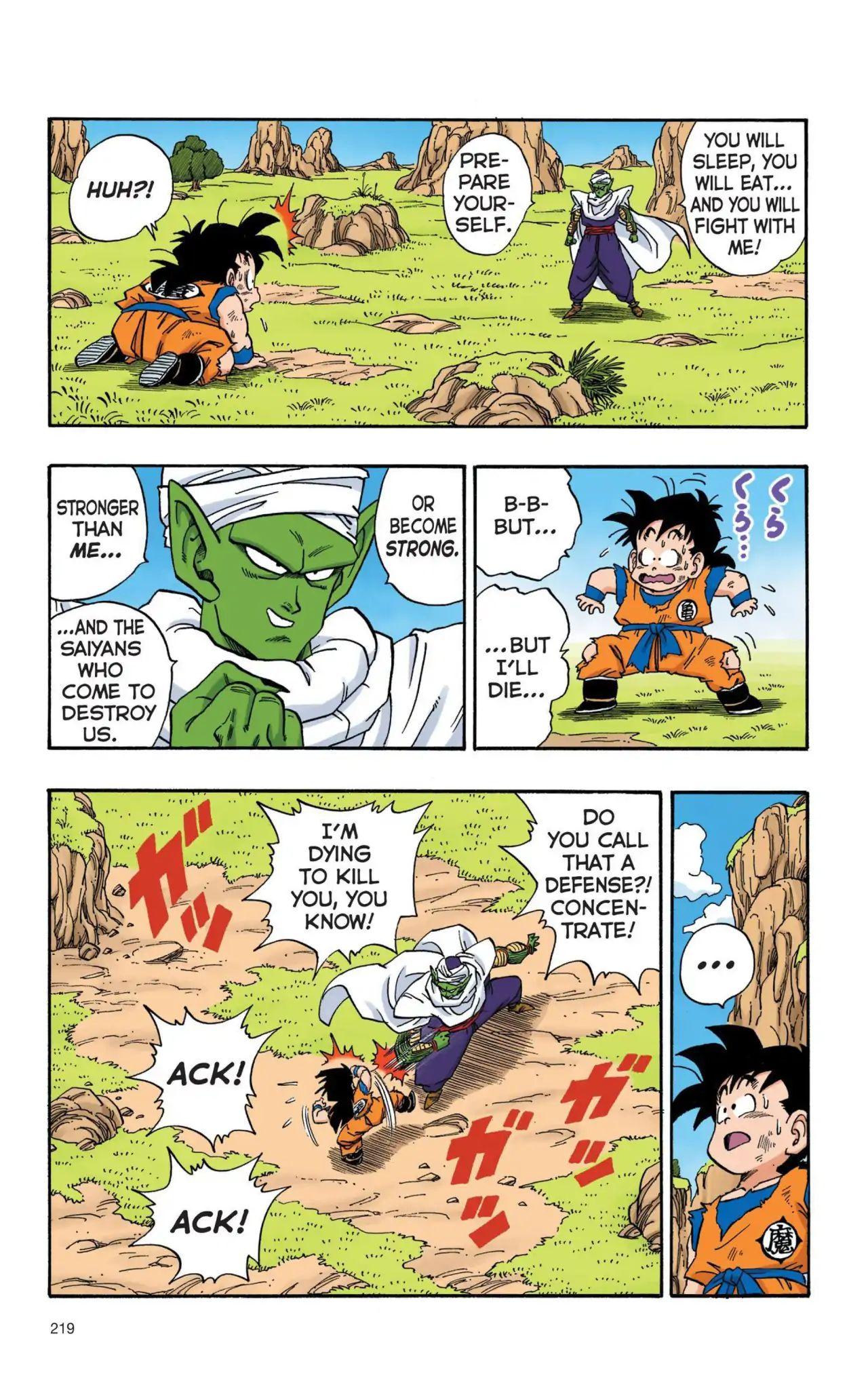 Dragon Ball Full Color Saiyan Arc Chapter 16  Online Free Manga Read Image 4