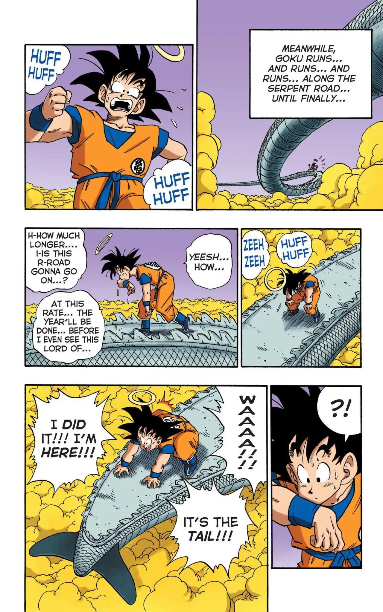 Dragon Ball Full Color Saiyan Arc Chapter 16  Online Free Manga Read Image 5
